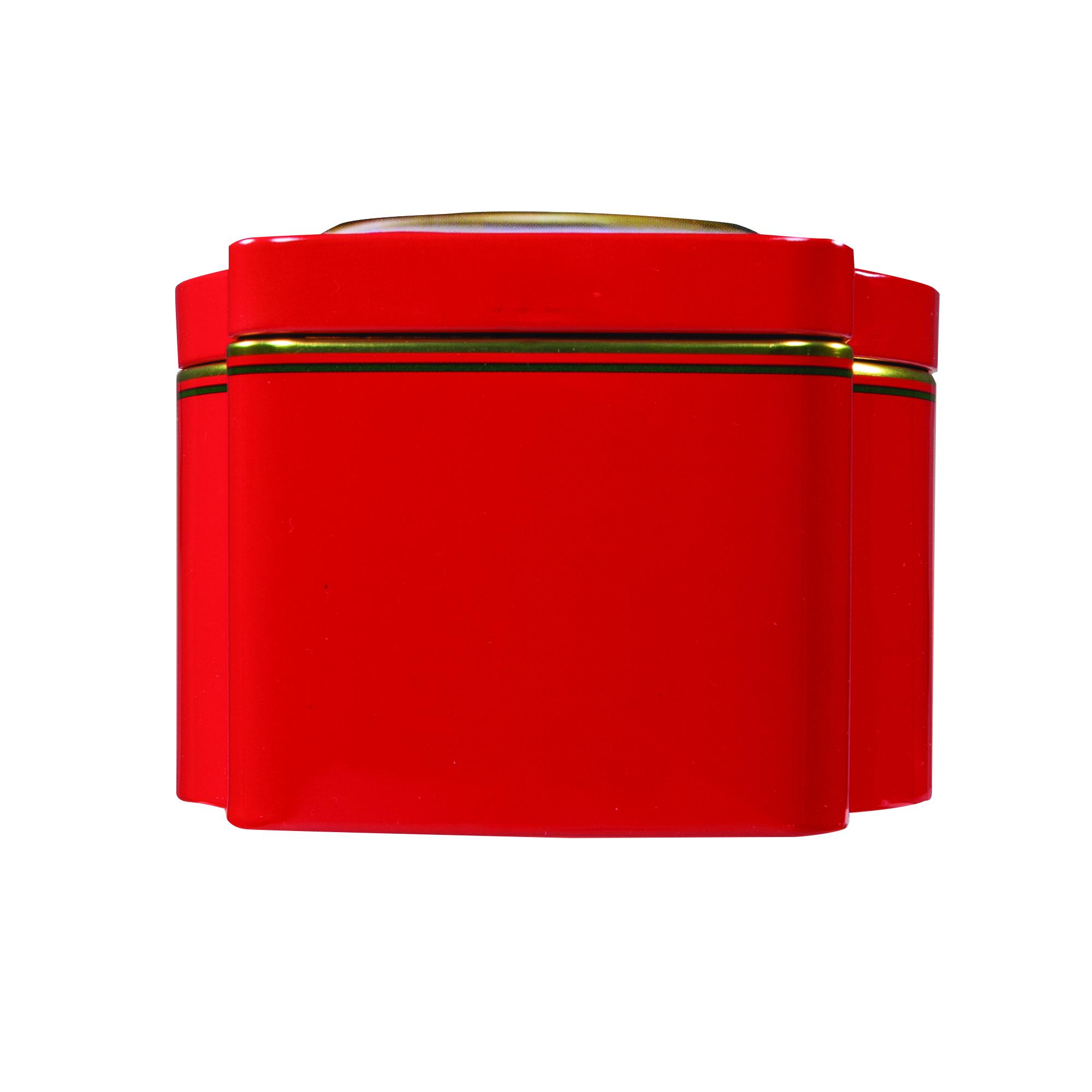 5945 11.3 oz Nutcracker Tin: Almond ROCA®, Dark ROCA® - Top View