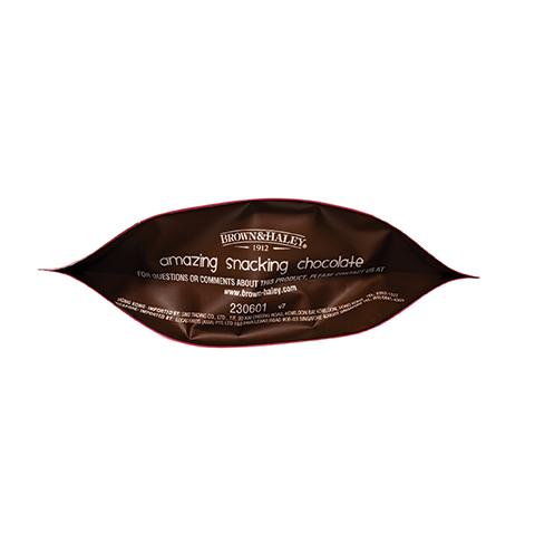 3310 5.3oz Dark Chocolate ROCA® Thins Stand-up Pouch - Bottom View