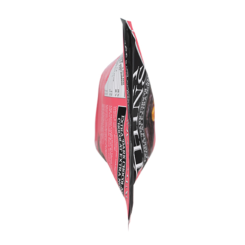 3328 5.3 oz Extra Dark Chocolate ROCA® Thins Stand-up Pouch - Top View