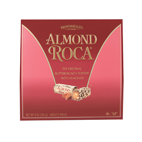 5335 8 oz ALMOND ROCA® Purse Pack - Straight-Front View
