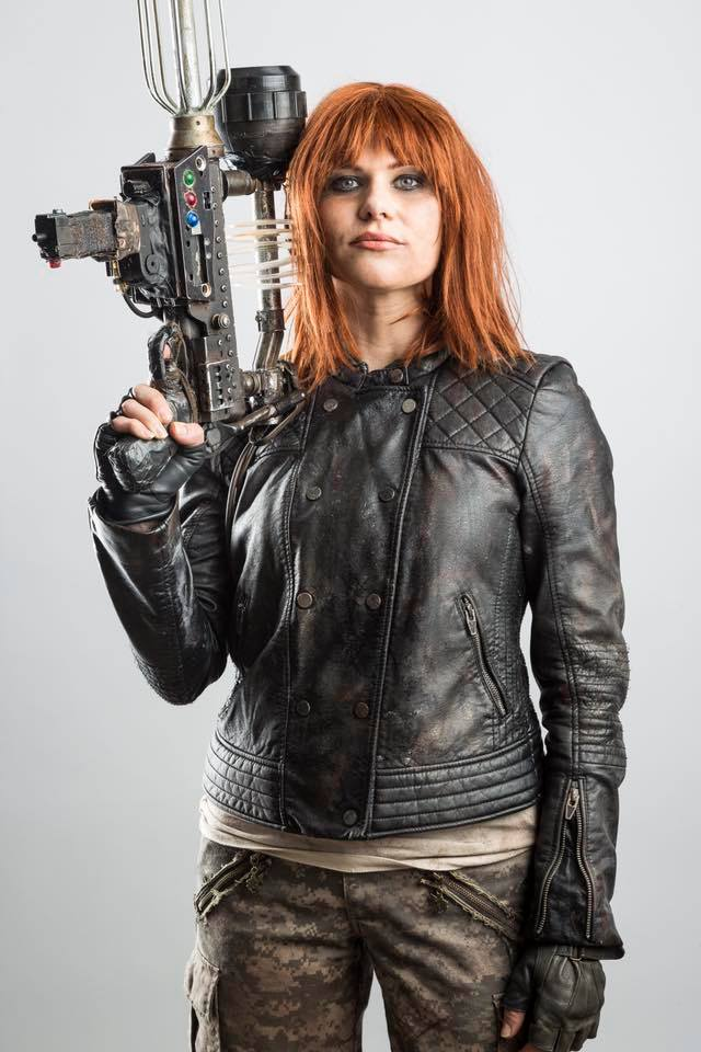 Cinder, a featured (accompanying an interview) in   Children of Time: The Companions of Doctor Who     by Photographer:  Greg De Stefano . Armourer: Brian Uiga, based on art by  Paul Hanley . Special Thanks: George Mann and Vanessa Walton