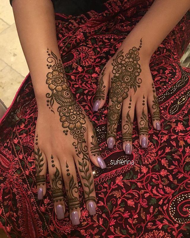 bridesmaids henna for @sukhmanraggi bridal party ✨