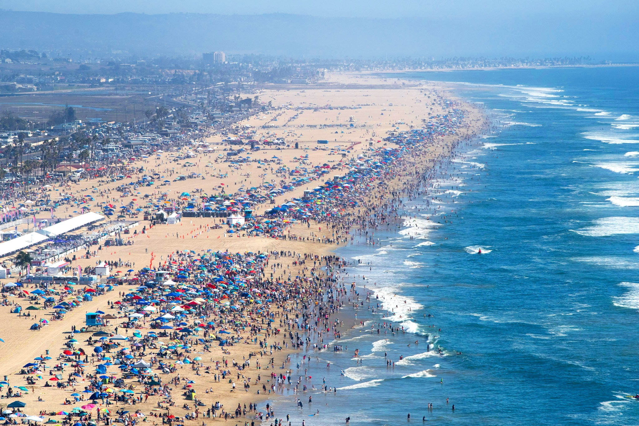 Since its launch in 2016 - TGPA has exploded in popularity. In 2018 we had unprecedented attendance of more than 2 million people (!) making Huntington Beach the destination for the country's best airshow experience.