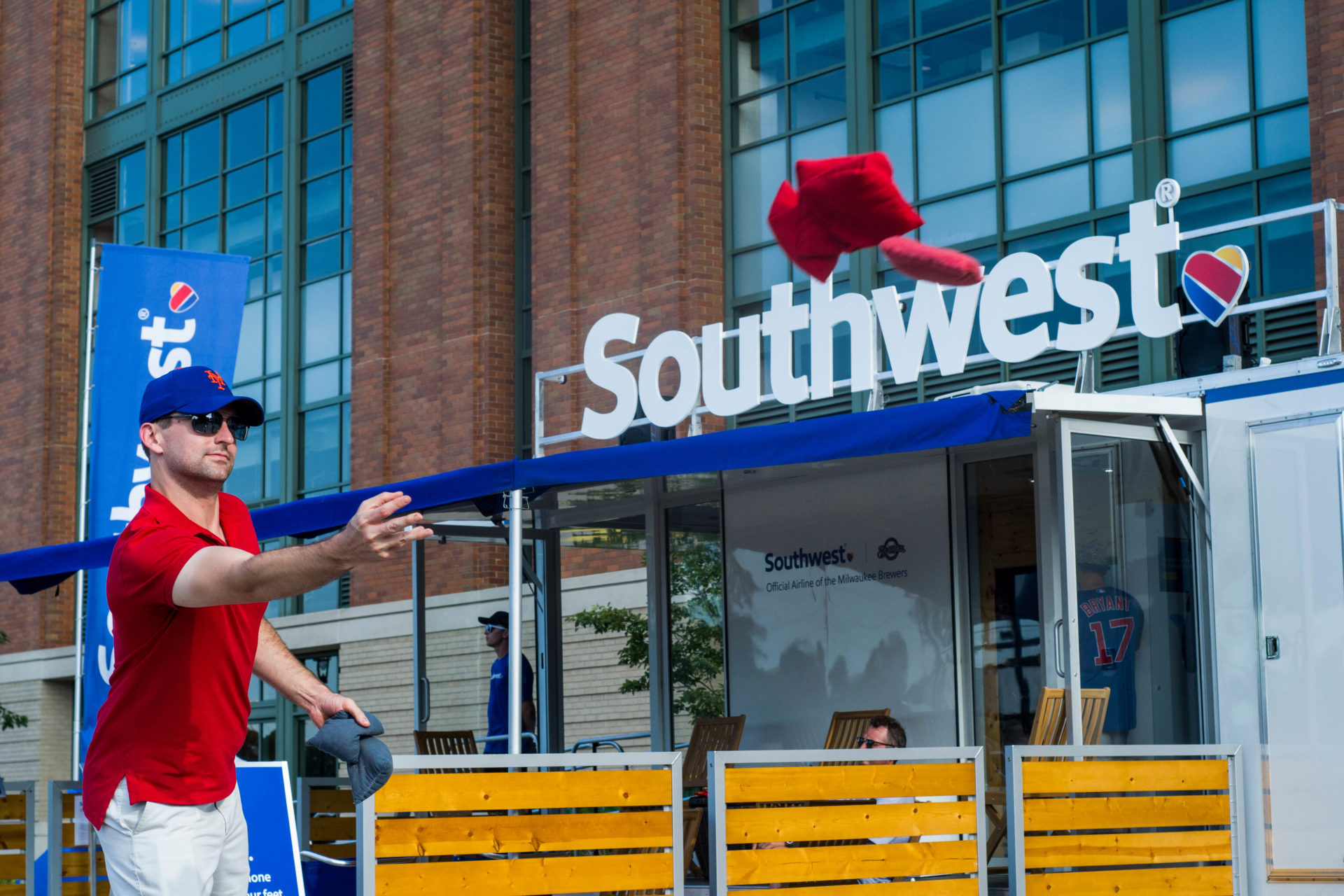 Southwest Airlines Porch Tour Experiential Marketing Event Photography Agency Brand Photography Brand Videography  Experiential Activations O Hello Media