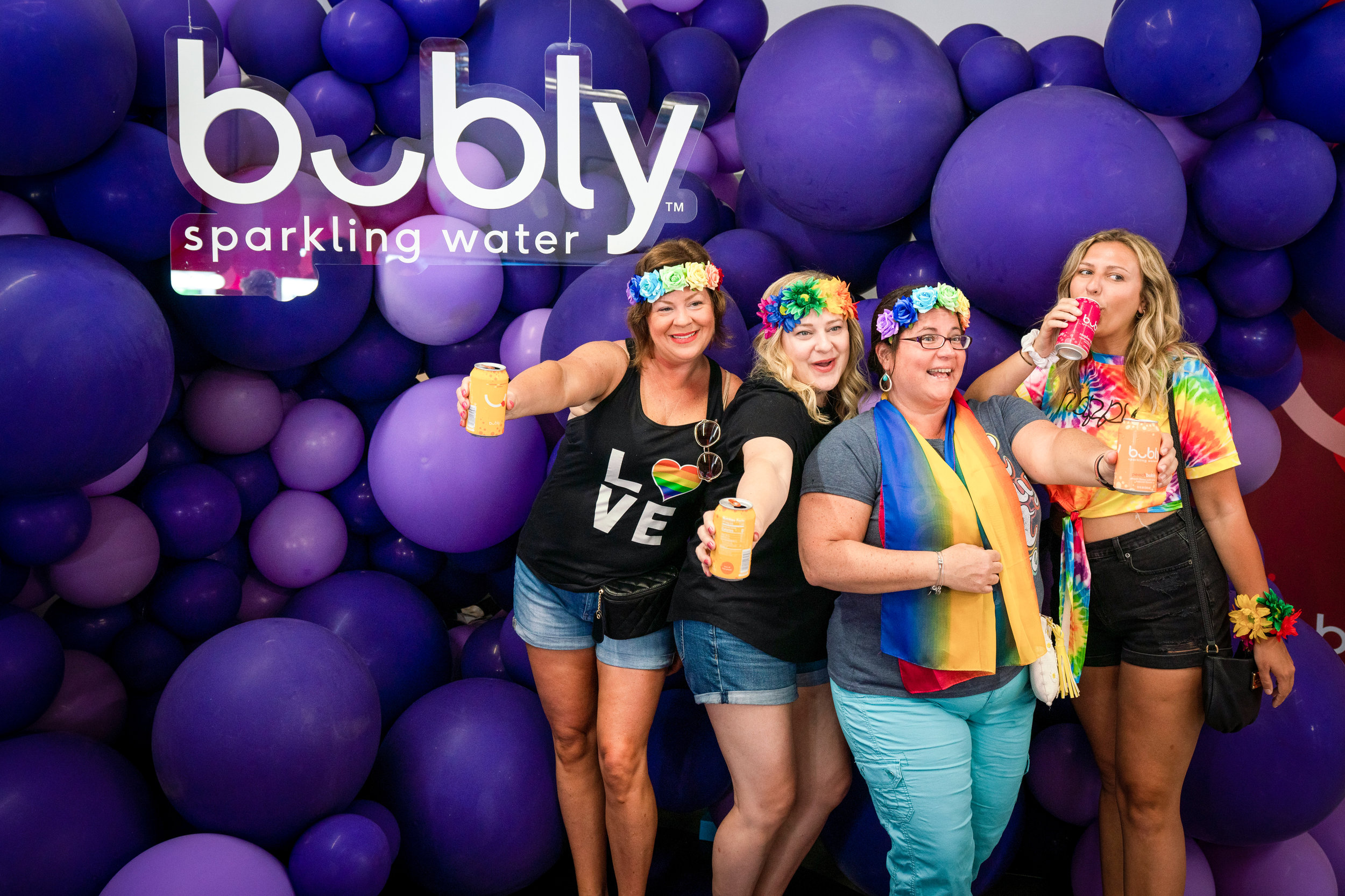 Bubly @ LA Pride  Experiential Marketing Event Photography Agency Brand Photography Brand Videography  Experiential Activations O Hello Media