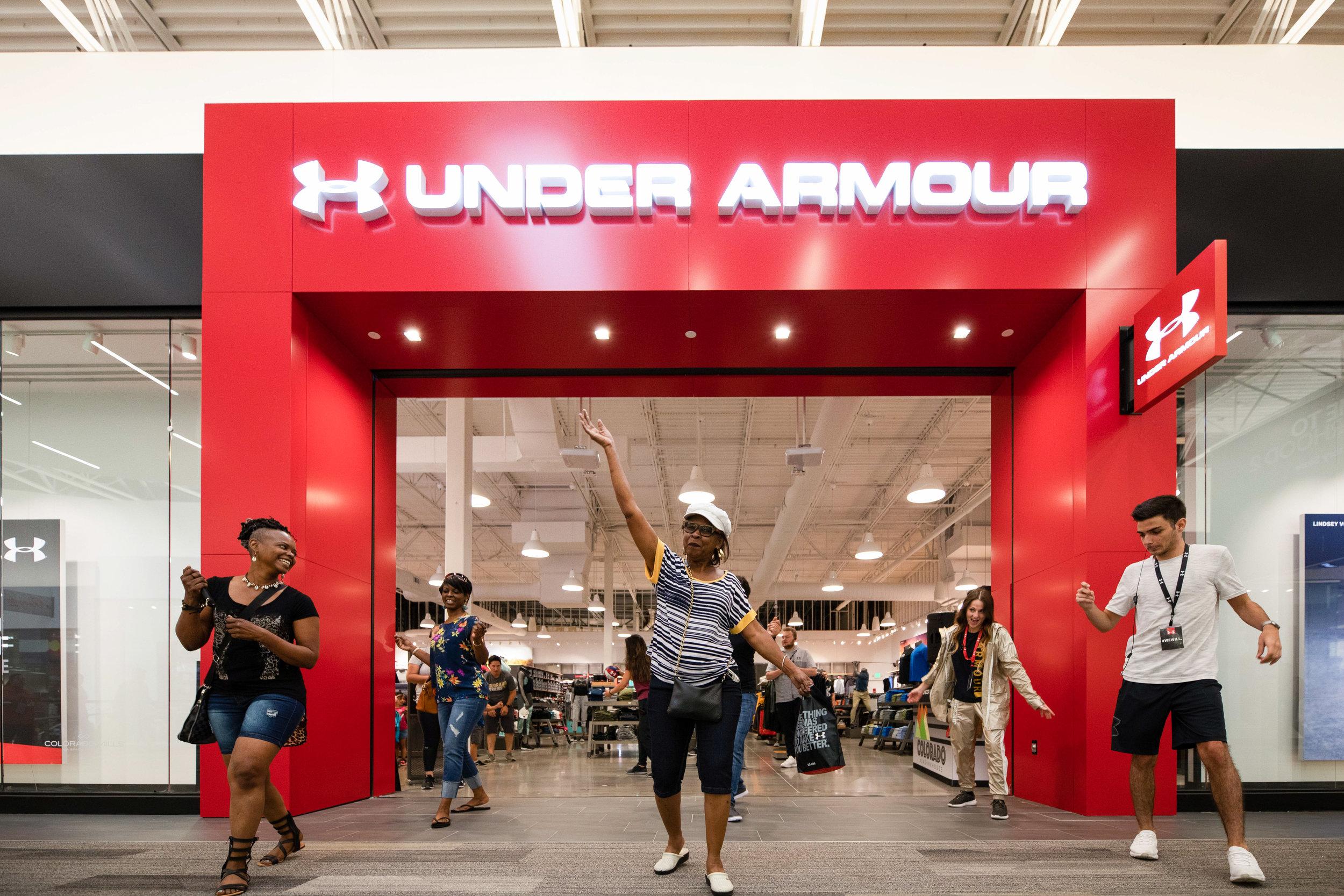 Under Armour @ Colorado Mills O Hello Media Brand Photography