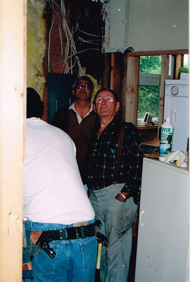 The 3 generations - Art McMurry, Duane Springer & Ron Springer.