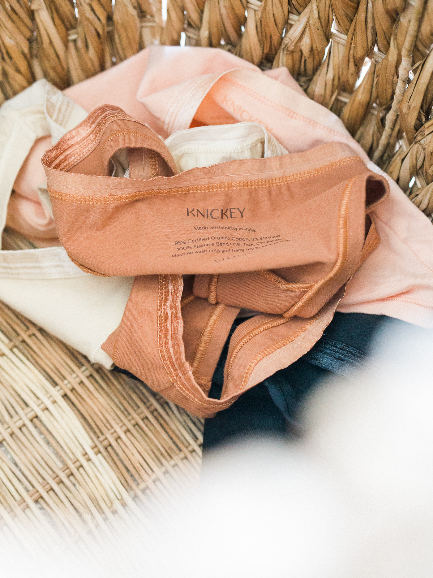 Voyage + Heart - Product Photography for Sustainable Brands - Mail In Product Photography for Conscious Brands - Knickey - Organic Cotton Underwear