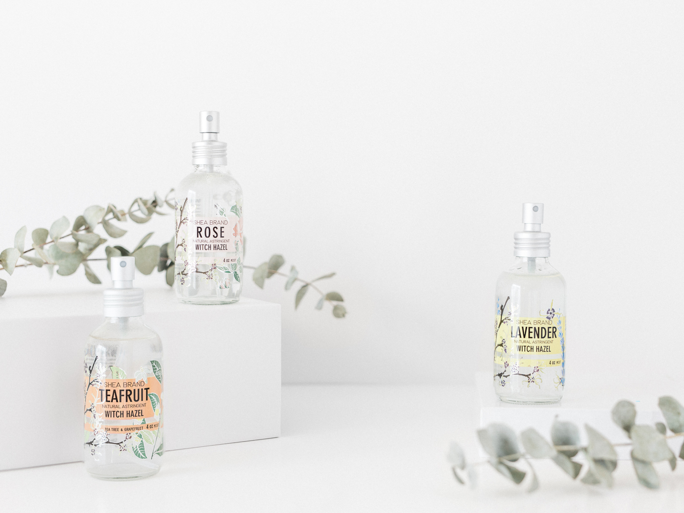 Voyage + Heart - Shea Brand - Product Photographers for Skincare Brands - Luxury Skincare Product Photography - E Commerce Photography for Organic Skincare Brands - Commercial Photographers for CBD Brands
