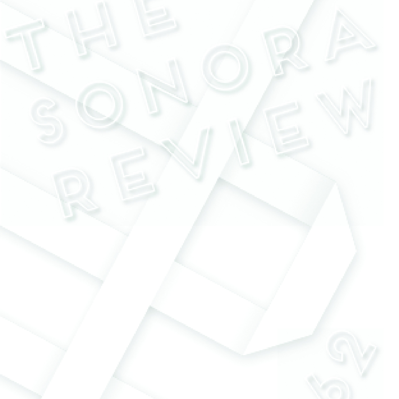 The Sonora Review  ...You are small and wooden. Pretend you are a tree...