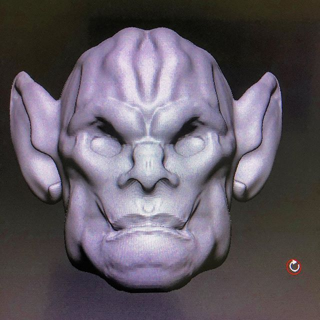 More #ZBrush practice. Going to make the body when I get some time.