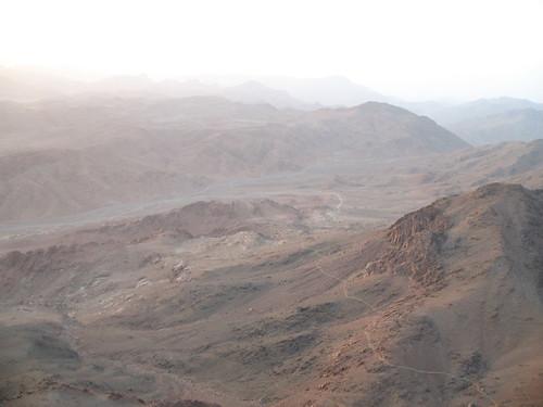 View of Mt. Sinai Desert
