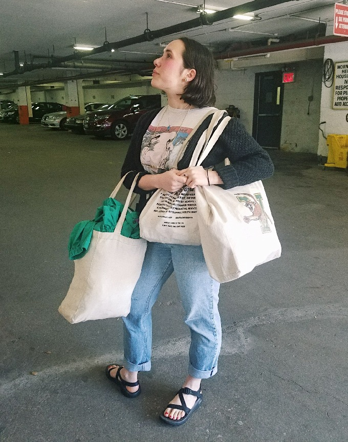 Tote Bag - Plastic bags are a thing of the past. There's a tote bag for everything.