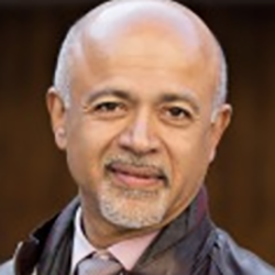 Dr. Abraham Verghese, MD  Sr Associate Chair of the Department of Internal Medicine at Stanford University;Author