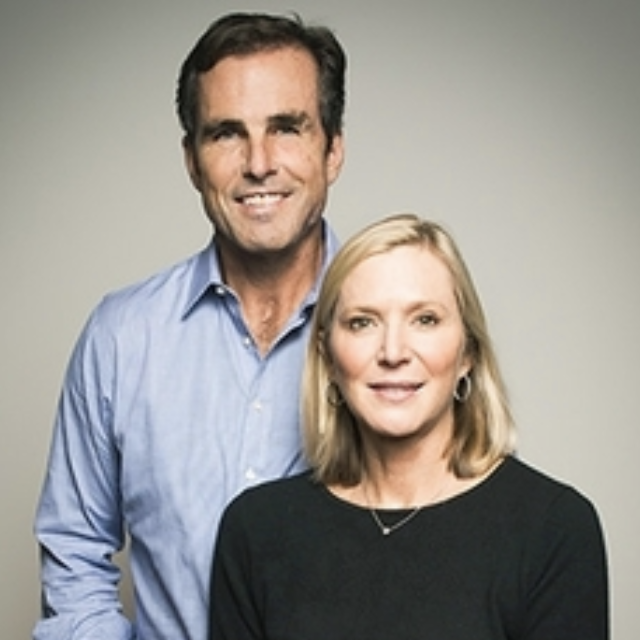 Lee and Bob Woodruff  Co-authors of the best-selling book  In an Instant,  founders of the Bob Woodruff Foundation to give injured veterans access to the high level of support and resources they deserve