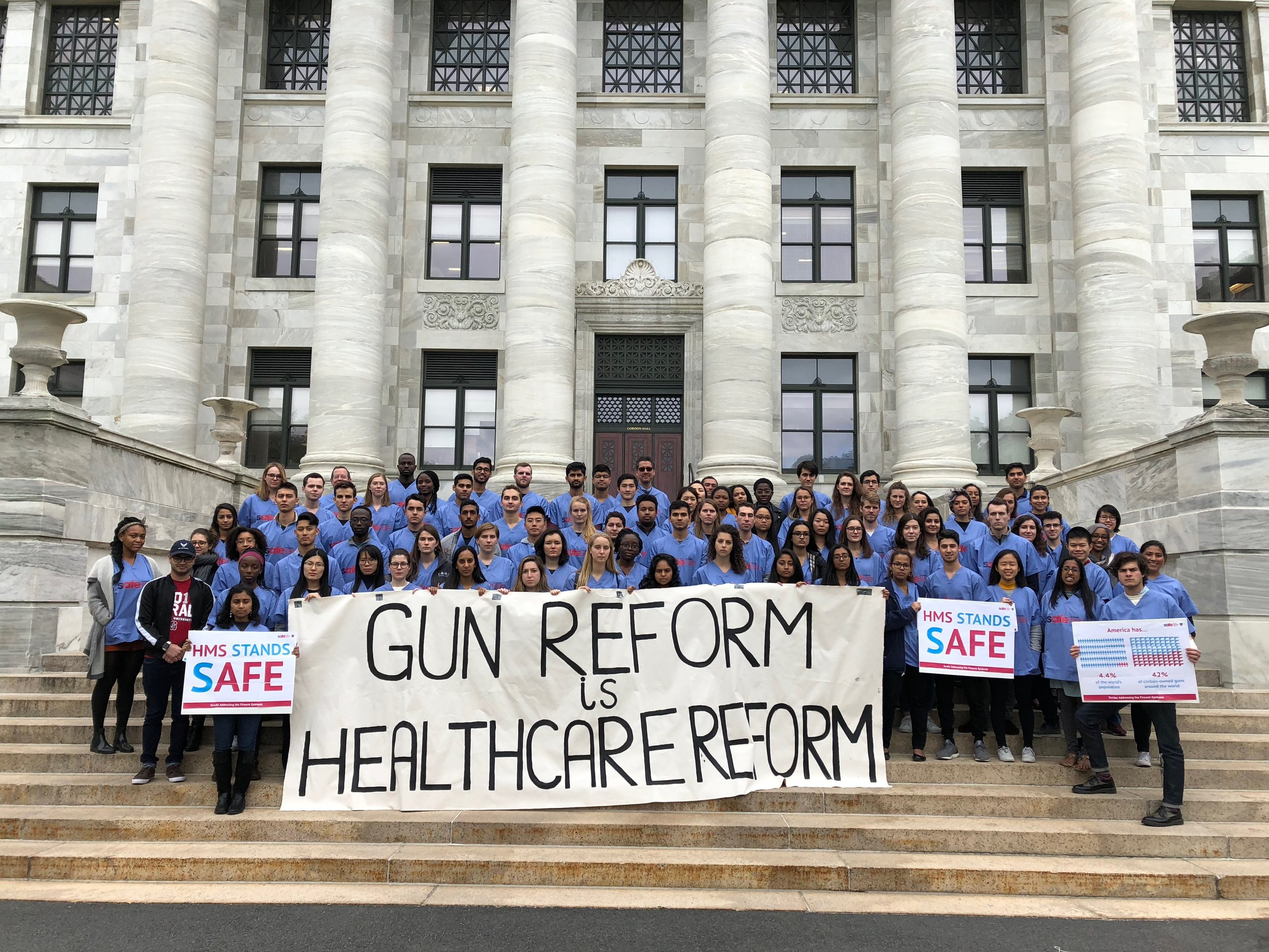LAST YEAR'S EVENT - In 2018, dozens of medical schools and hospitals gathered across the country to demand action on gun reform.