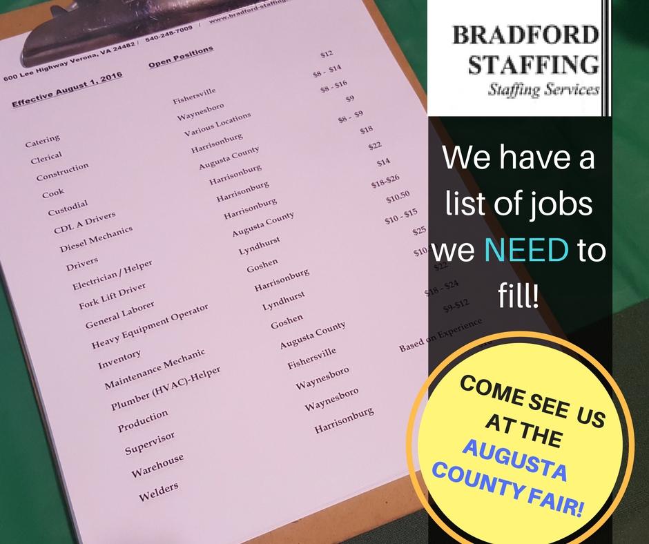 BradfordStaffingVA Augusta County Fair.jpg