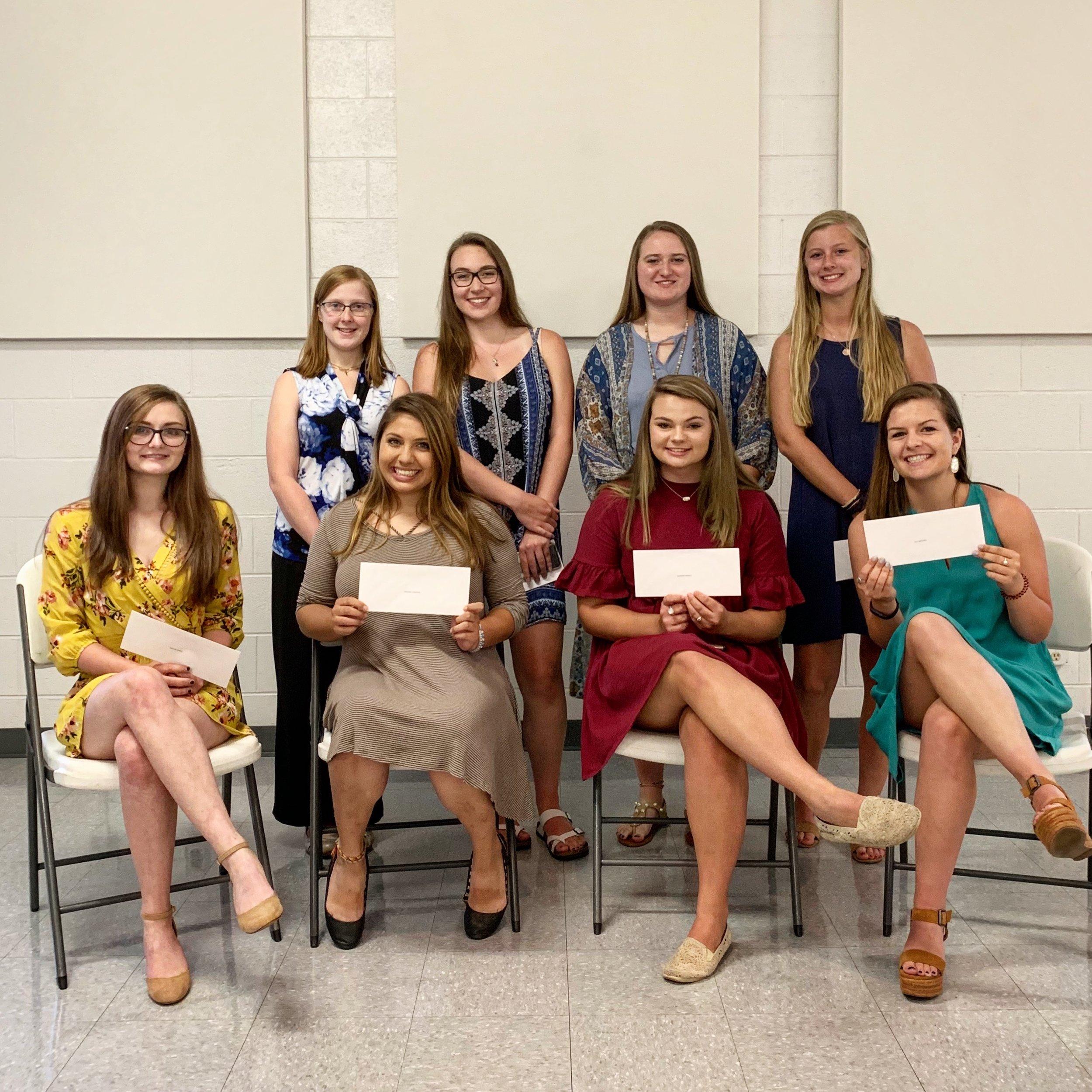 garner optimist club scholarships June 3 2019.jpg