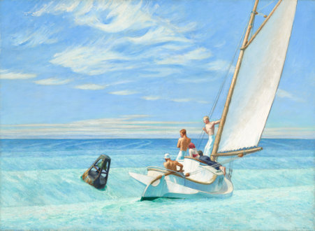 "Edward Hopper ""GROUND SWELL"""
