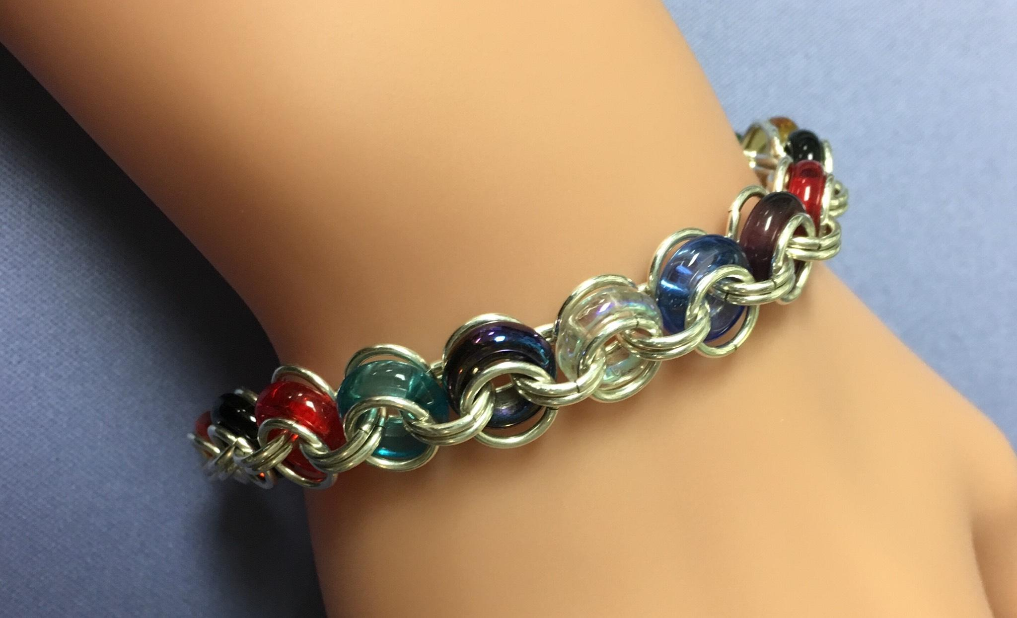 """Bicycle Chain"" Chain Maille Bracelet"