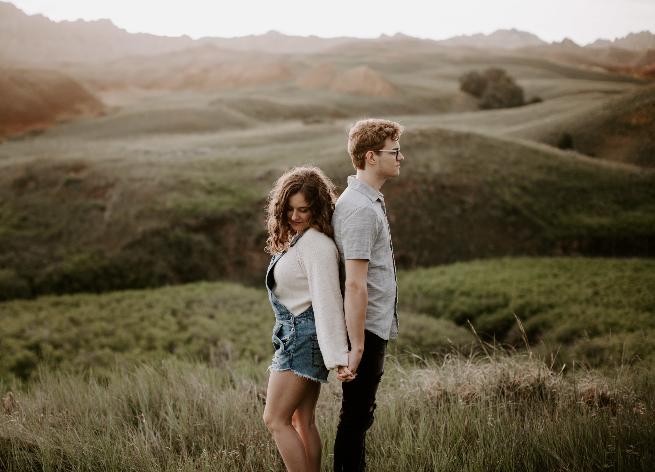 KAYLIN & MAX - Badlands lovers session