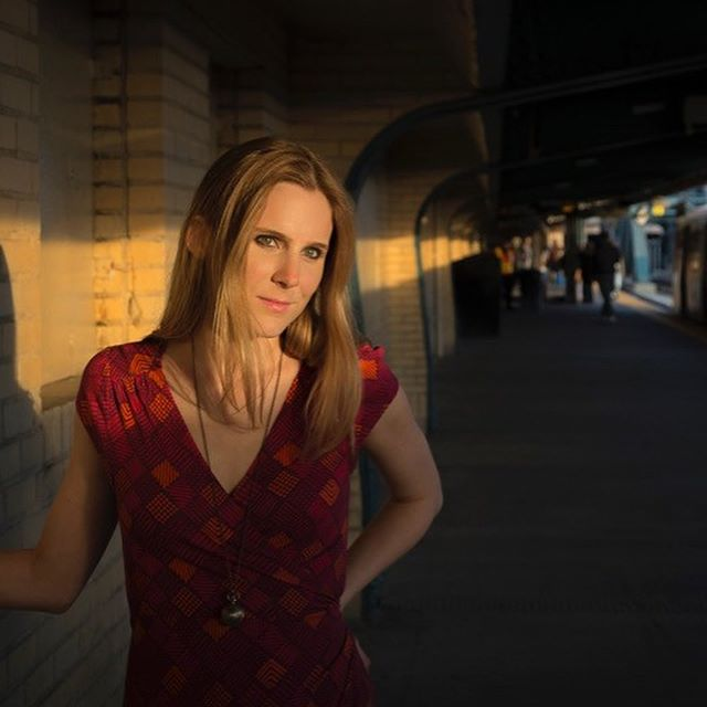 Erin and I ventured out late on a very hot summer evening in Park Slope Brooklyn to prove you don't need a lot of time to get some great photos. Our first stop was at the above-ground F-line Subway station at 4th Avenue. In true NYC fashion, Erin was cat-called by a train's driver while she was posing for the 2nd photo. We took about 15-20 minutes to get some great shots there -- the lead to this series is by far my favorite -- then headed back to my office. On the way, we stopped at the gate you see in the last photo to go a little more grunge for the look.