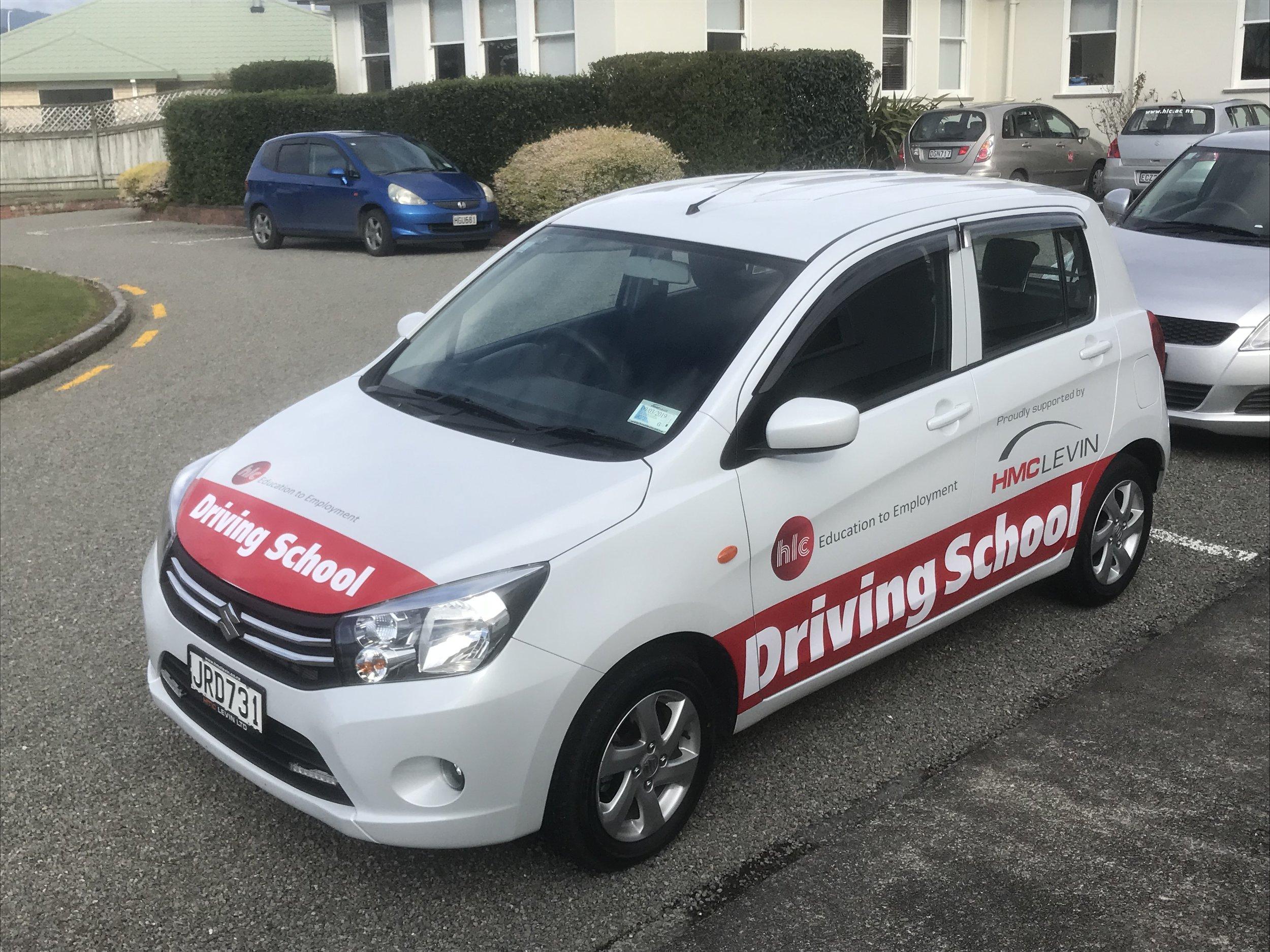 HLC Driving School Car