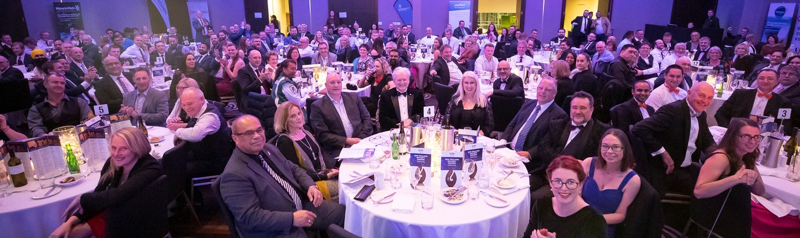 The attendees at the NZSA Awards night 23 August 2019