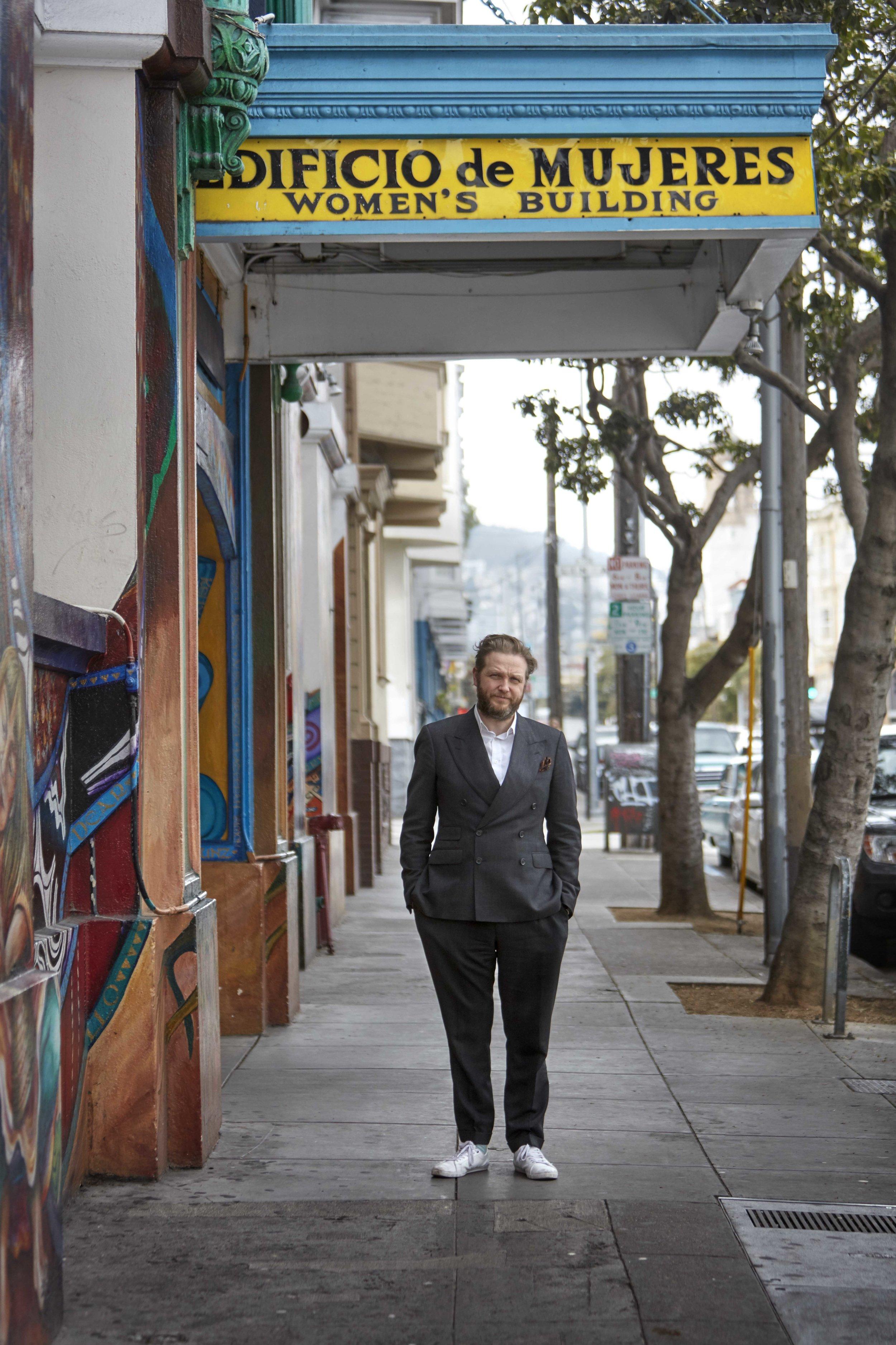 MAESTRAPEACE Mural, The San Francisco Women's Building Photograph by Quinn Gravier