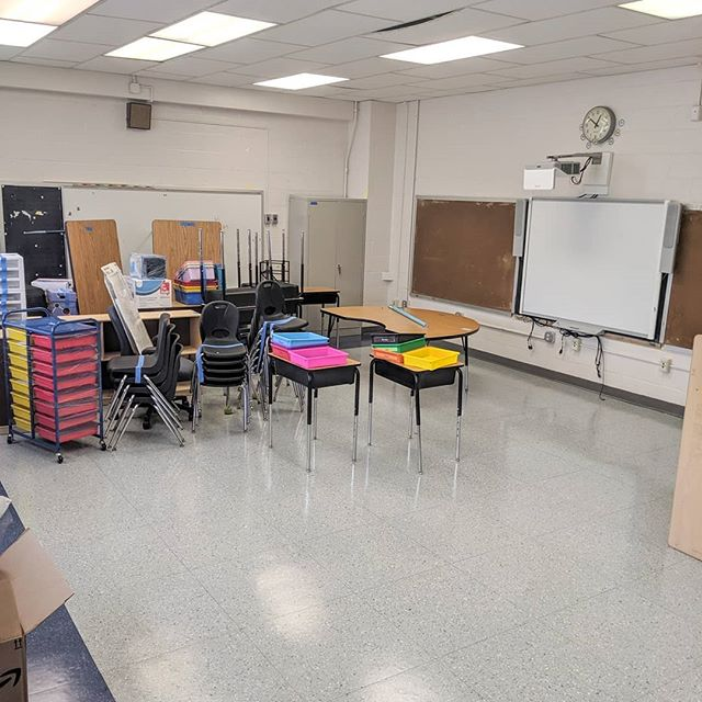 Yesterday I was able to get into my classroom for a few hours! Here are some before photos....can't wait to show you the transformation over the next few weeks!⁣ ⁣ .⁣ .⁣ #thespedcreative #iteachsped #spedteacher #sped #spedlife #teacherlife🍎 #teachersoftpt #teachersofthegram #teacherblogger #teachershare #teacherstuff #teacherideas #specialeducationteacher #classroomdecor #happyclassrooms #classroomsetup #classroomorganization #classroomideas #autismclassroom #classrooms #classroomfun #classroompinspirations #classroominspiration #classroomdesign #classroomtheme #classroomgoals #classroomprep #classroomlibrary #lakeshore #classroomtransformation