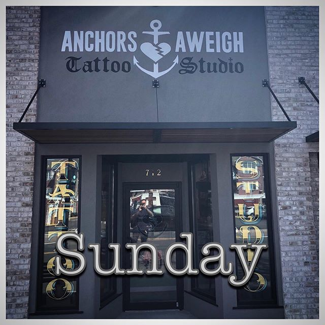 Walk-In day this Sunday guy!! Hit up @babyjohntattoo for info! Shop opens at 12:00 and we have awesome flash to chose from or bring in whatever you want!! See you guys Sunday. #anchorsaweightattoo #bradleybeachnj #beachtattoos #traditionaltattoos #njtattooshop #njtattooartist #njtattoo #boldwillhold #walkinday