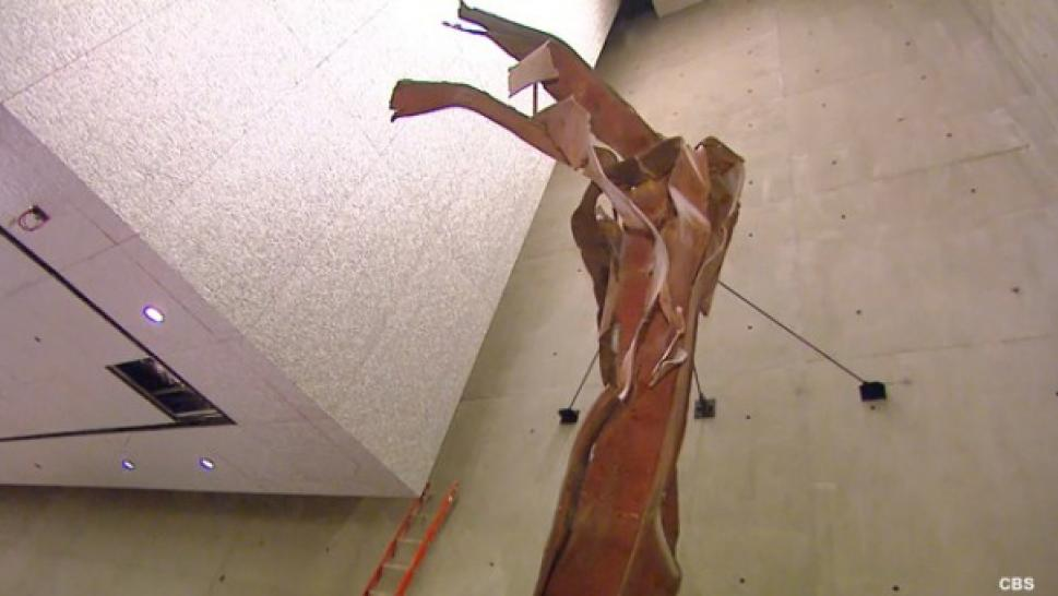 INSIDE EDITION - Is Image in Group Zero Steel a Sign From Above?