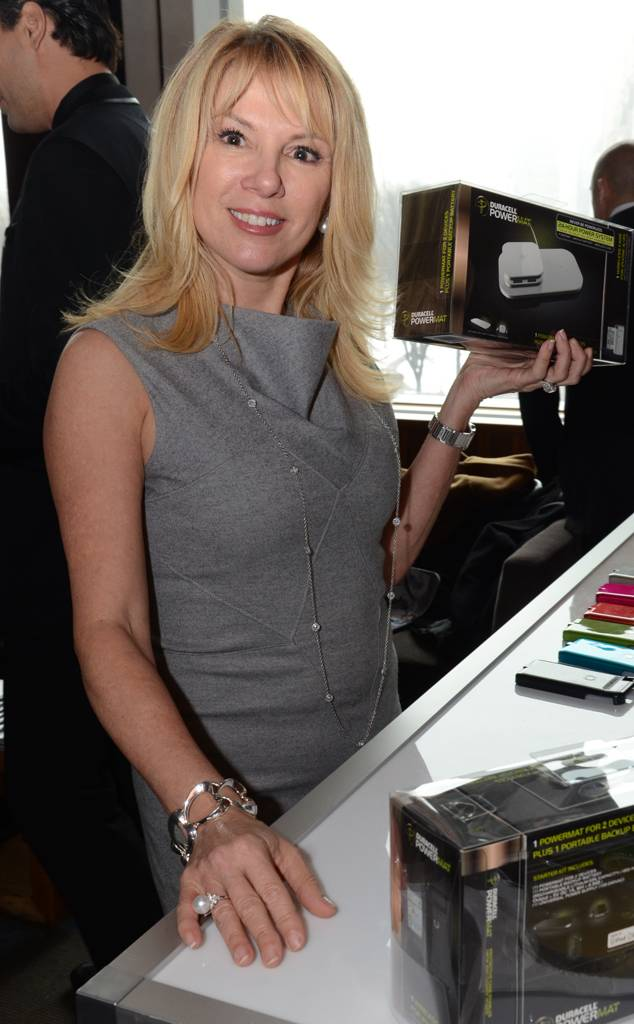 E! ONLINE - Ramona Singer attends the Daily Style Sessions during NYFW