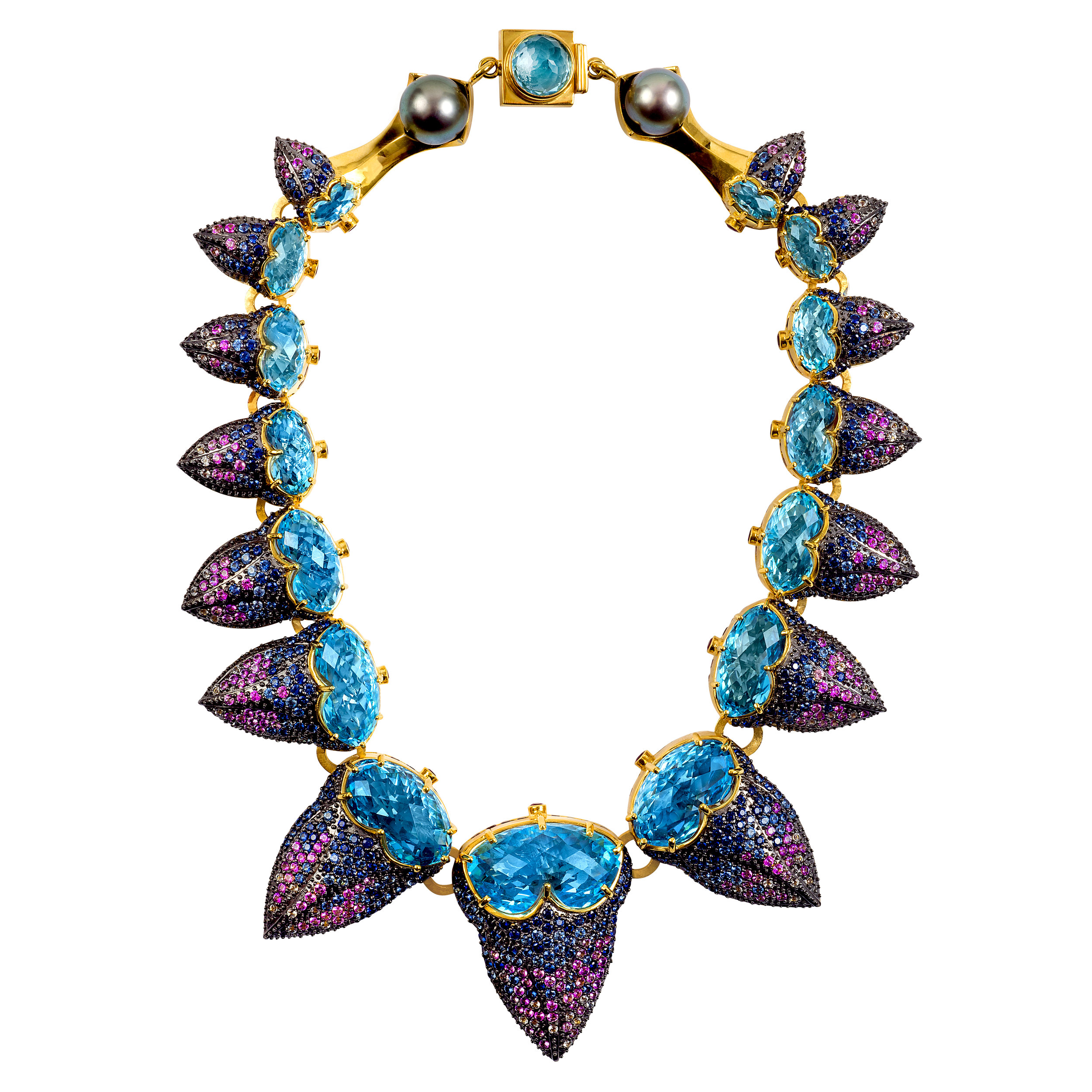 Purple Acorn Necklace - Atelier Swarovski by Matthew Campbell Laurenza, photo by Andrew Werner.jpg