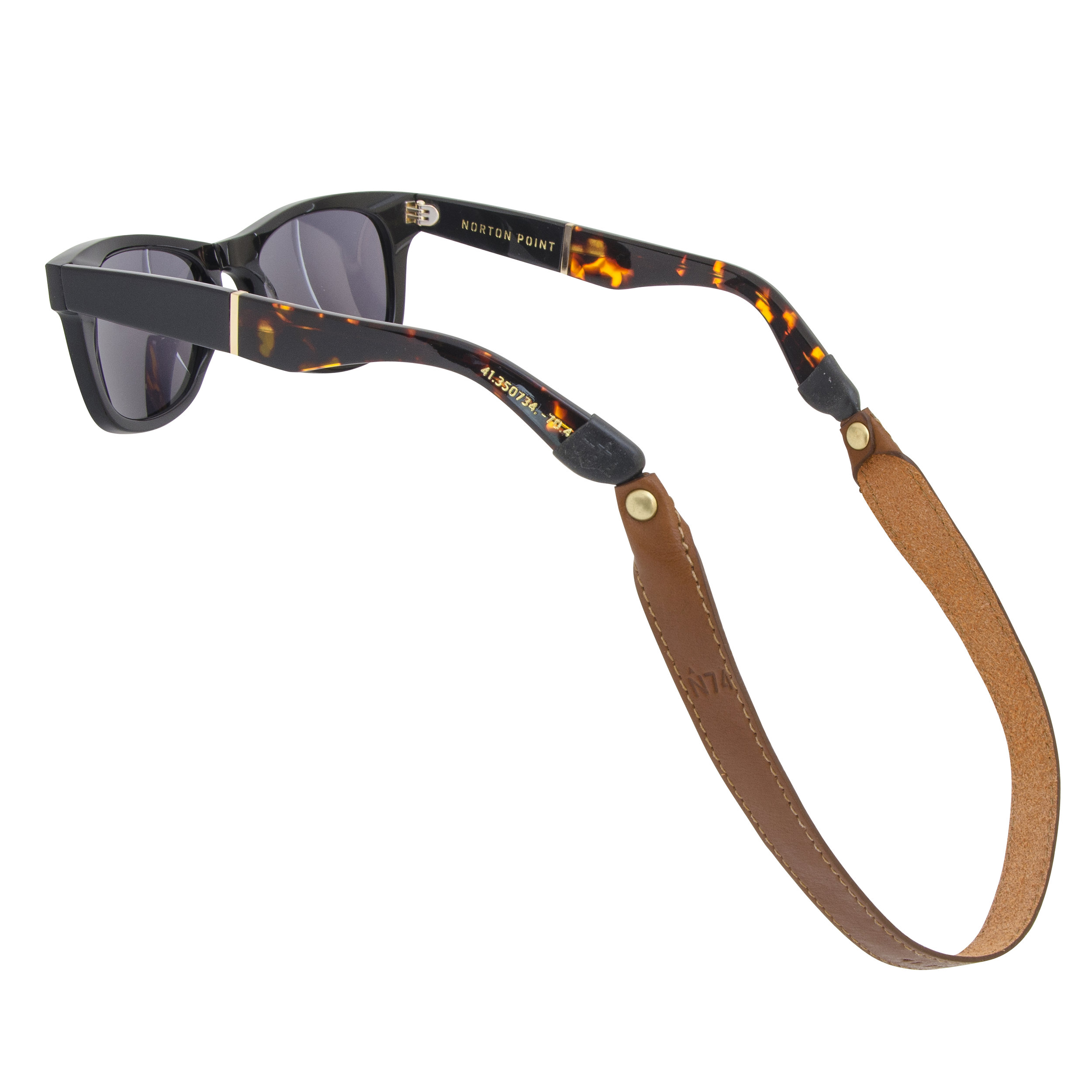 Norton Point Leather Strap on glasses - photo by Andrew Werner.jpg