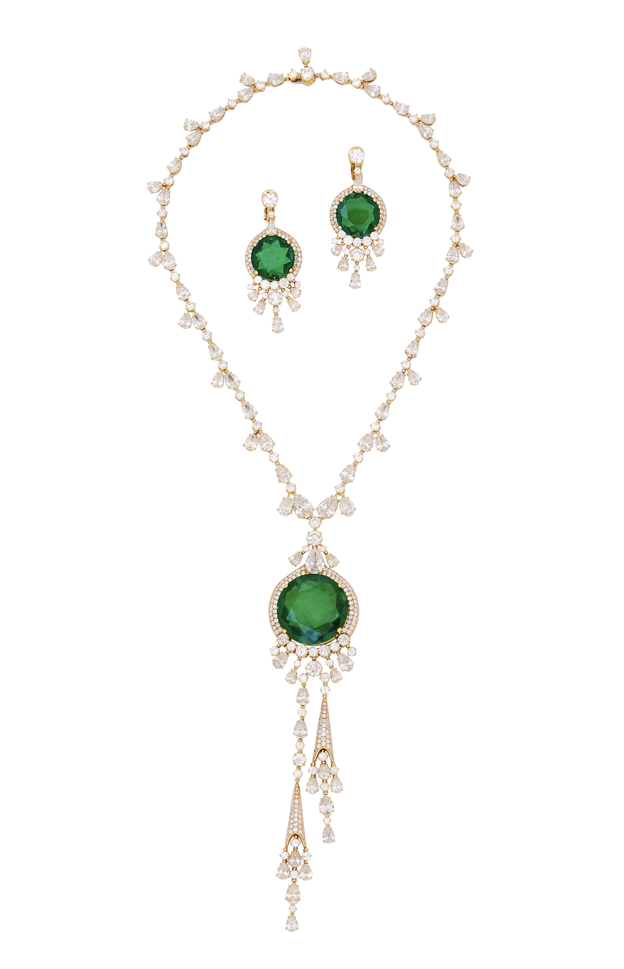 Bvlgari Emerald Earrings and Necklace - photo by Andrew Werner.jpg
