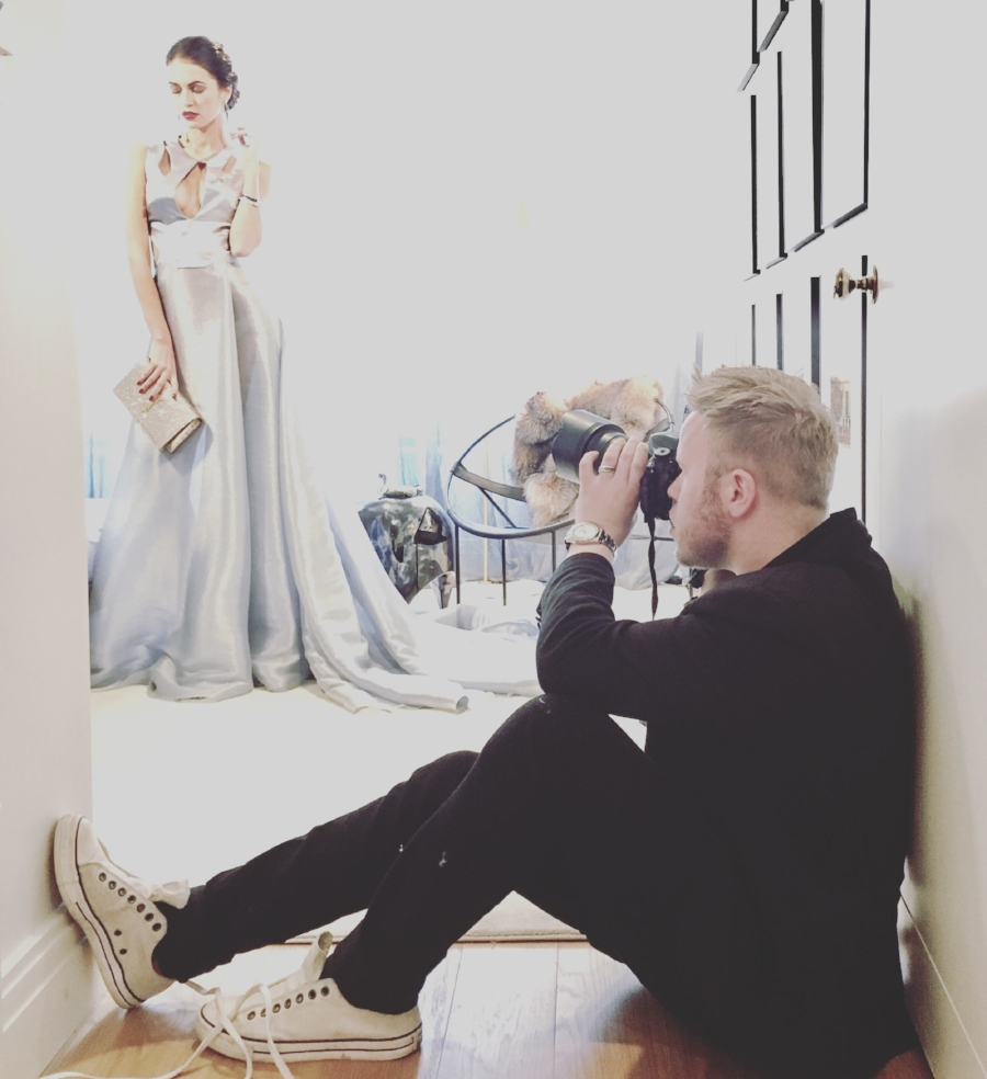 BTS with photographer Andrew Werner - Holiday Rhapsody.jpg