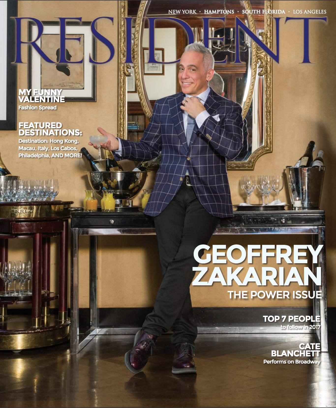 Geoffrey Zakarian RESIDENT MAGAZINE cover - photo by Andrew Werner.png