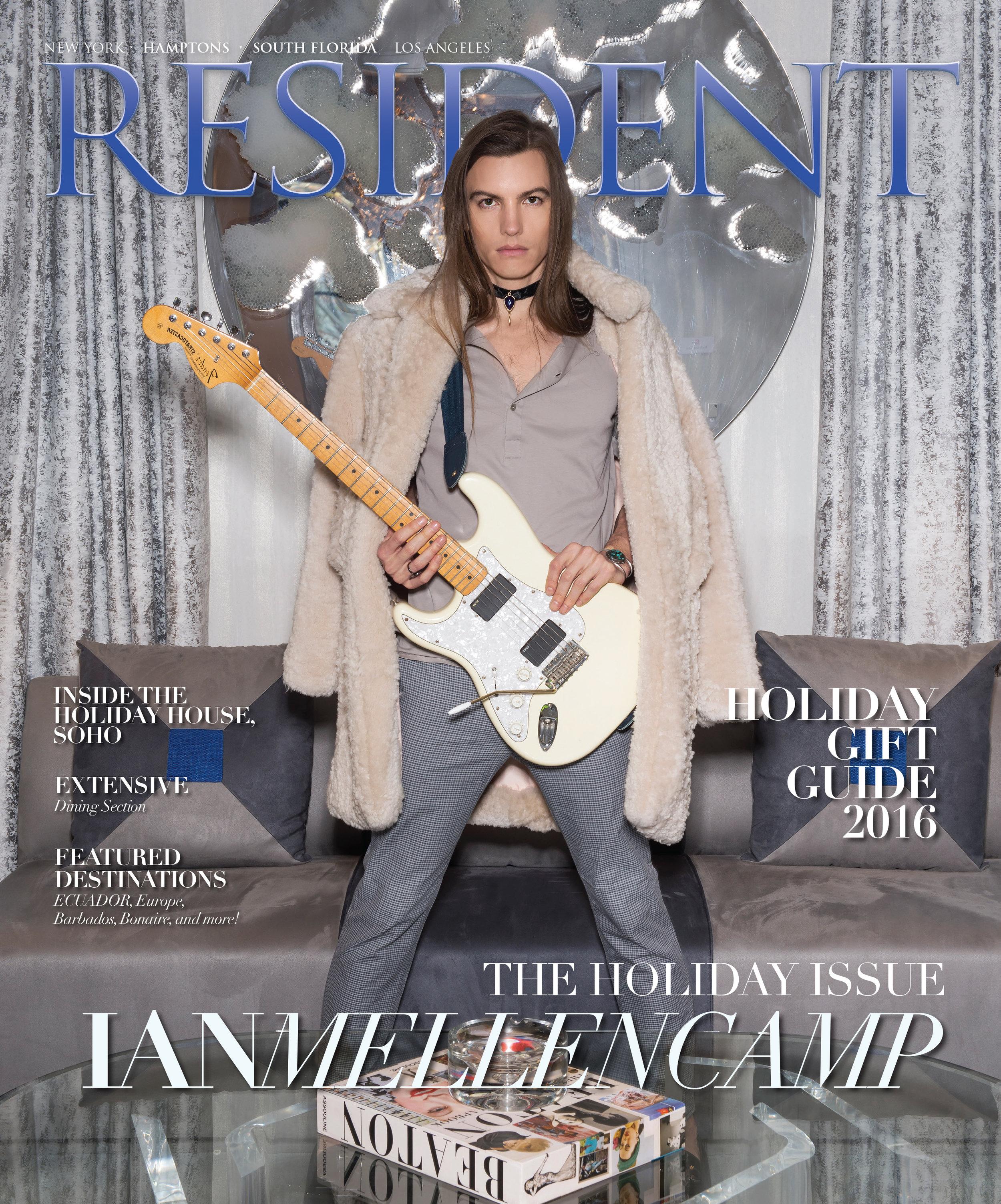Resident Magazine December 2016 Cover ft. Ian Mellencamp by photographer Andrew Werner.jpg