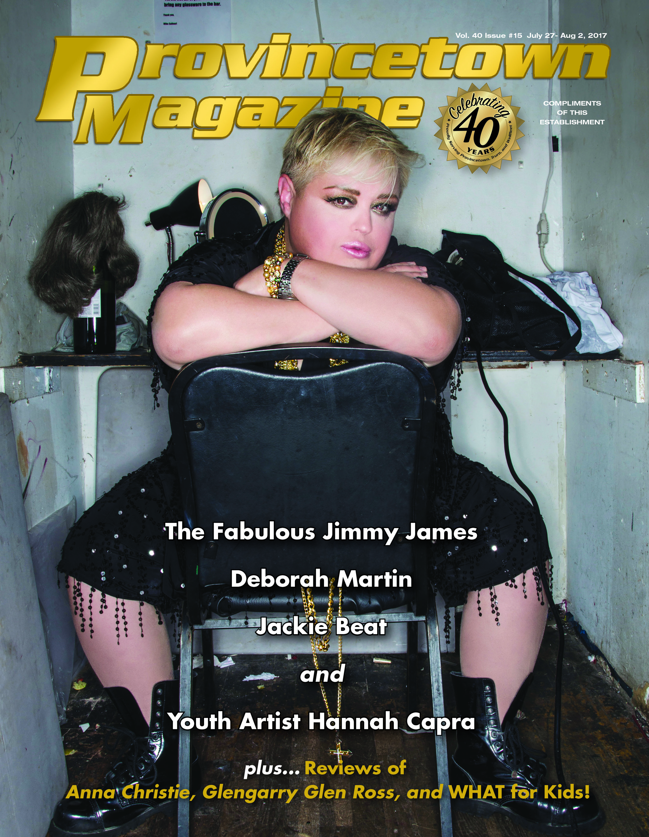 Provincetown Magazine - Jimmy James cover - photo by Andrew Werner.jpg