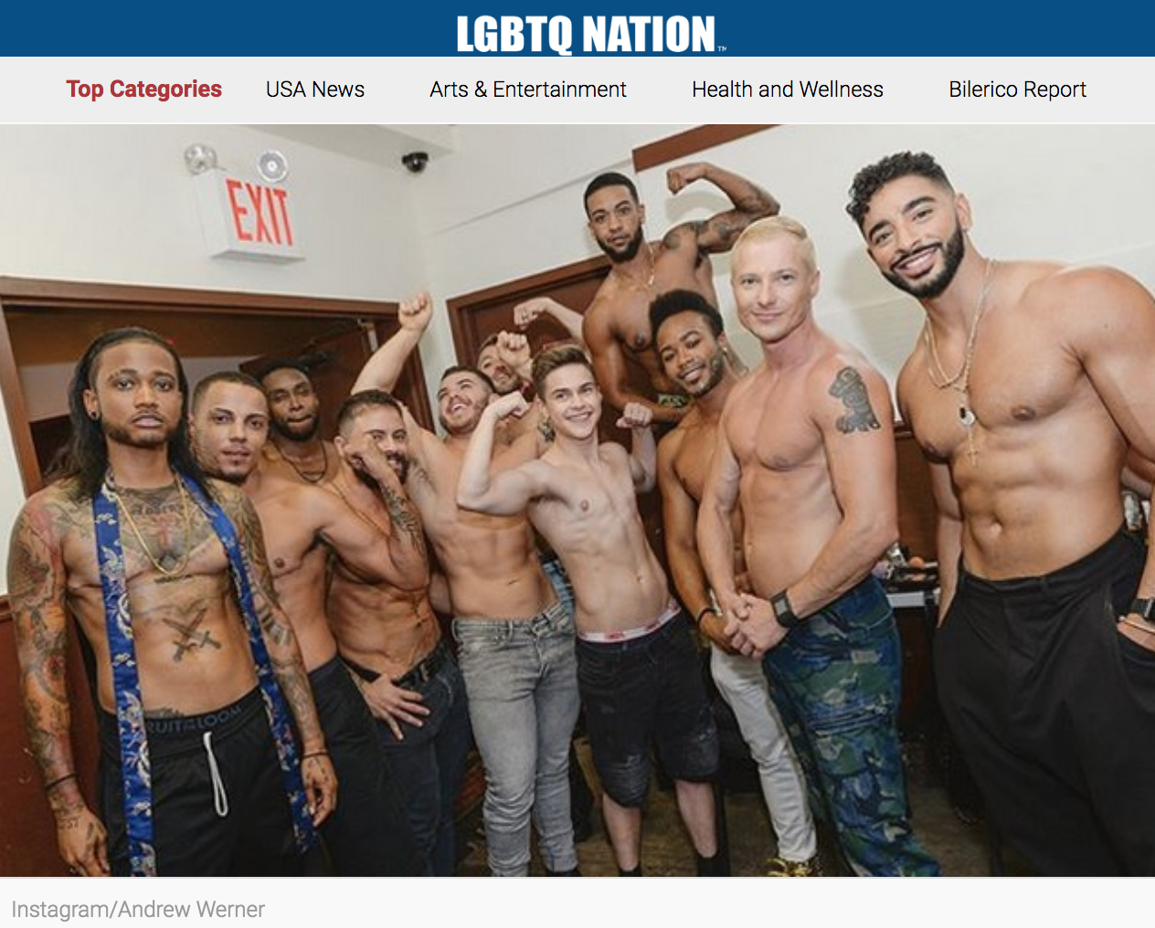 LGBTQ NATION - 34 models slayed the runway in Marco Marco's100% transgender fashion show