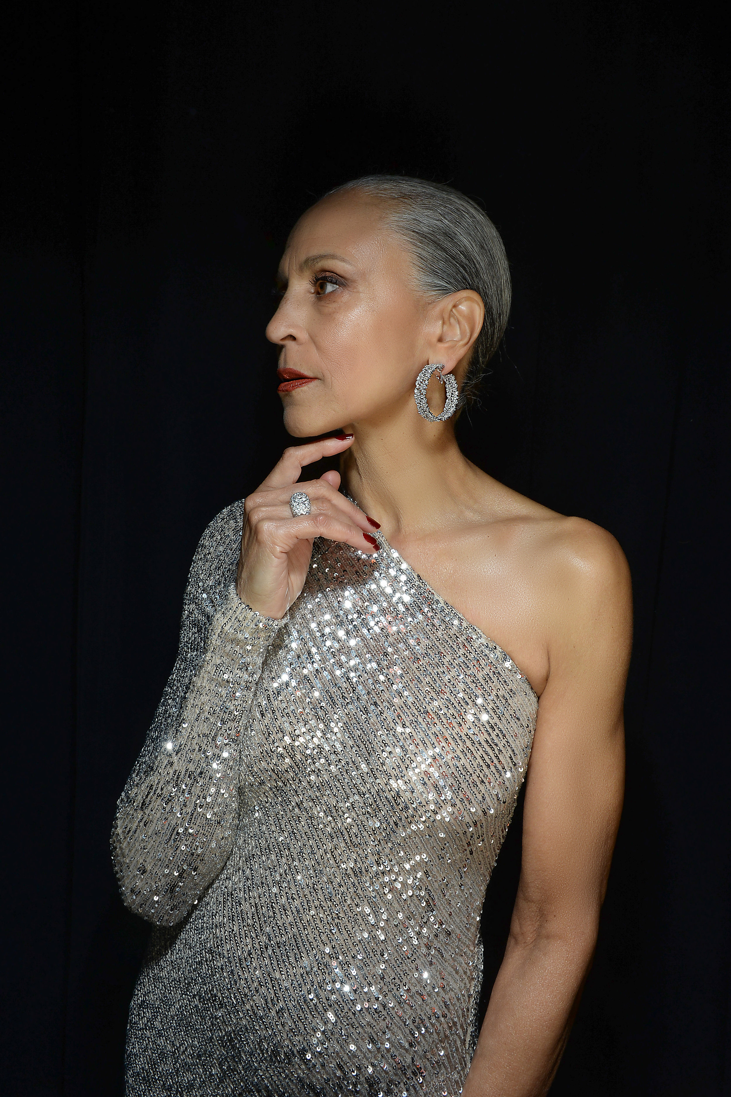 Alva Chinn wearing Chopard and Naeem Khan - portrait by Andrew Werner.jpg