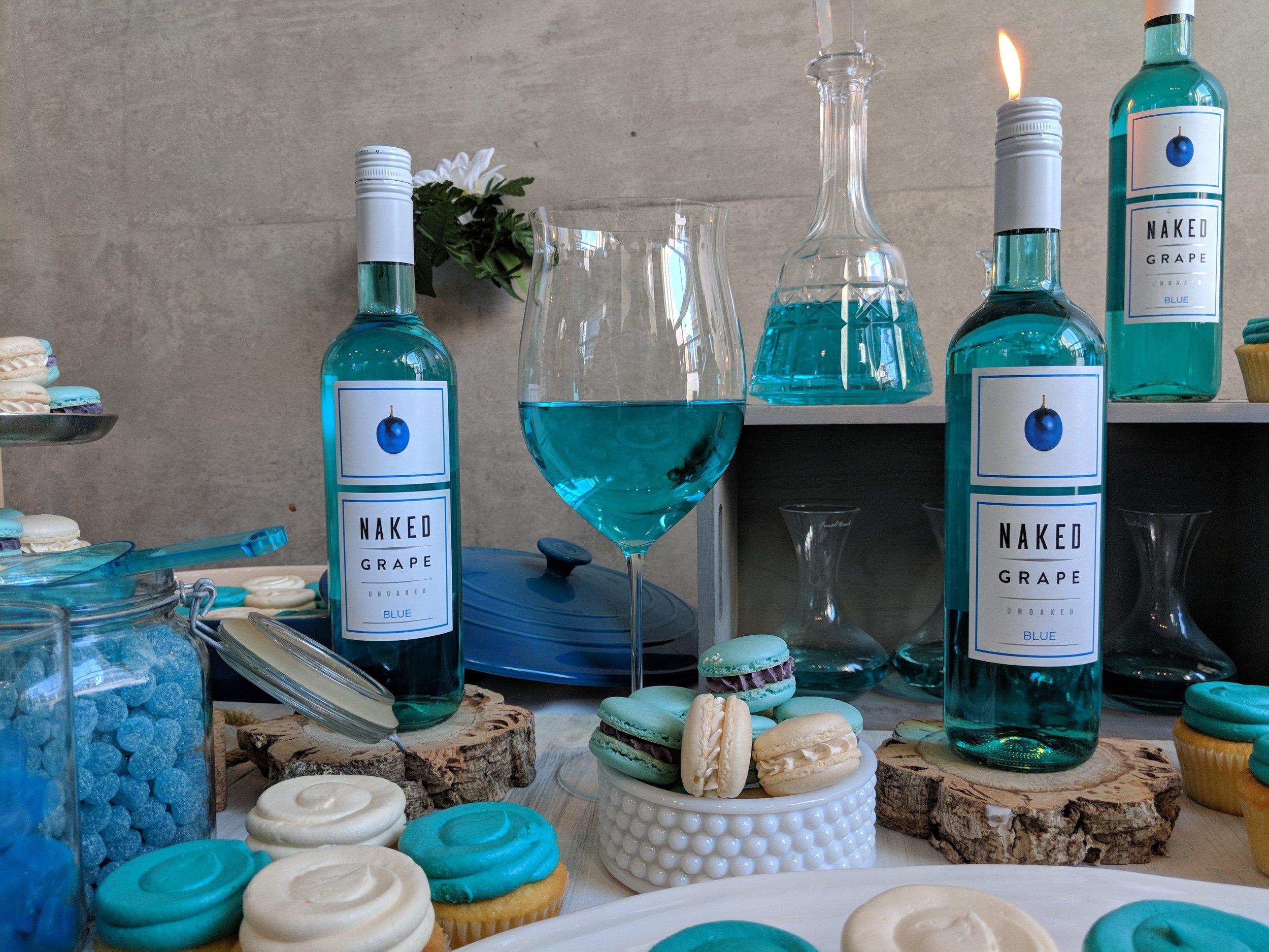 naked grape blue wine ontario