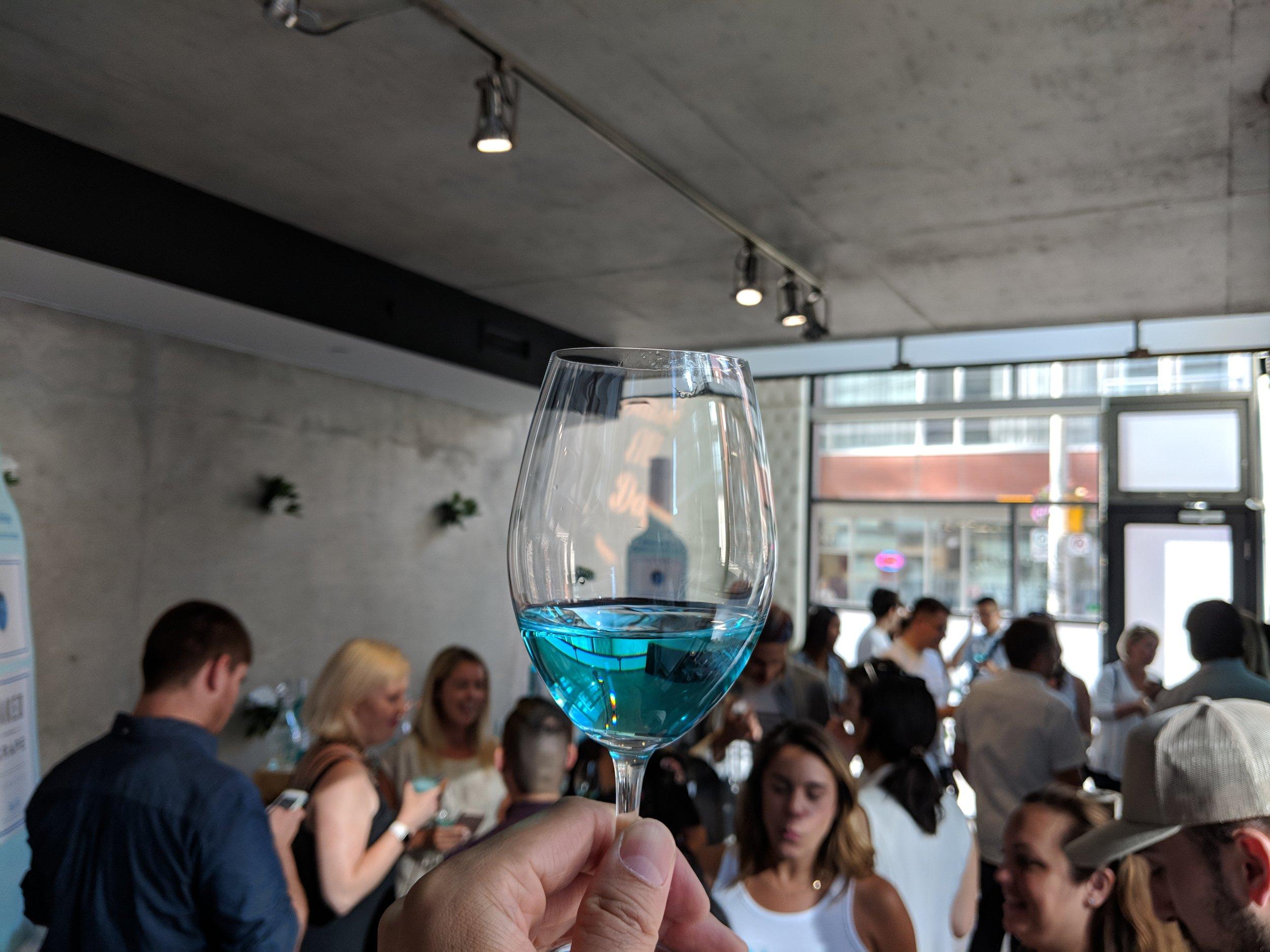 naked grape blue wine iyellow