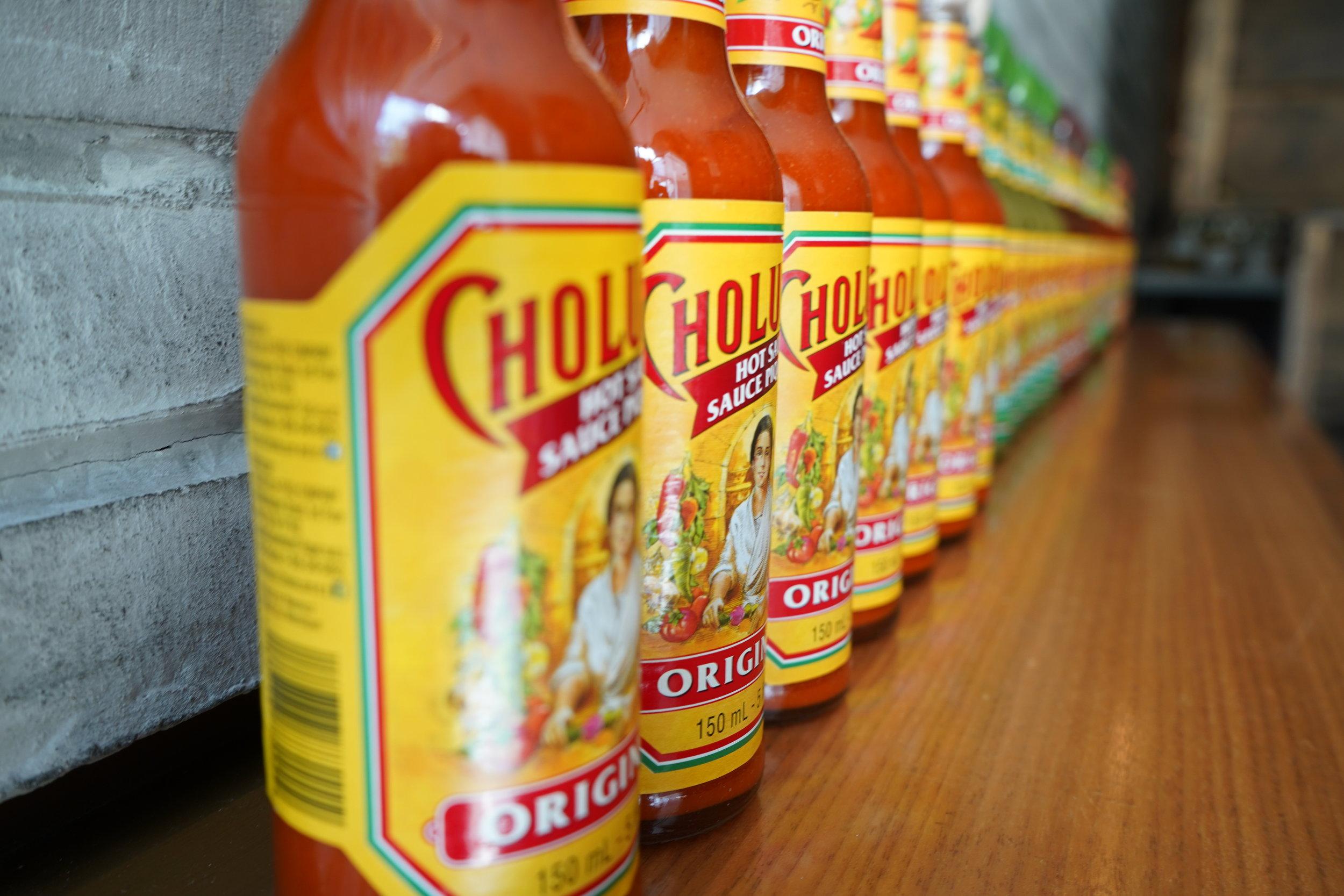 cholula hot sauce bottles toronto matty matheson