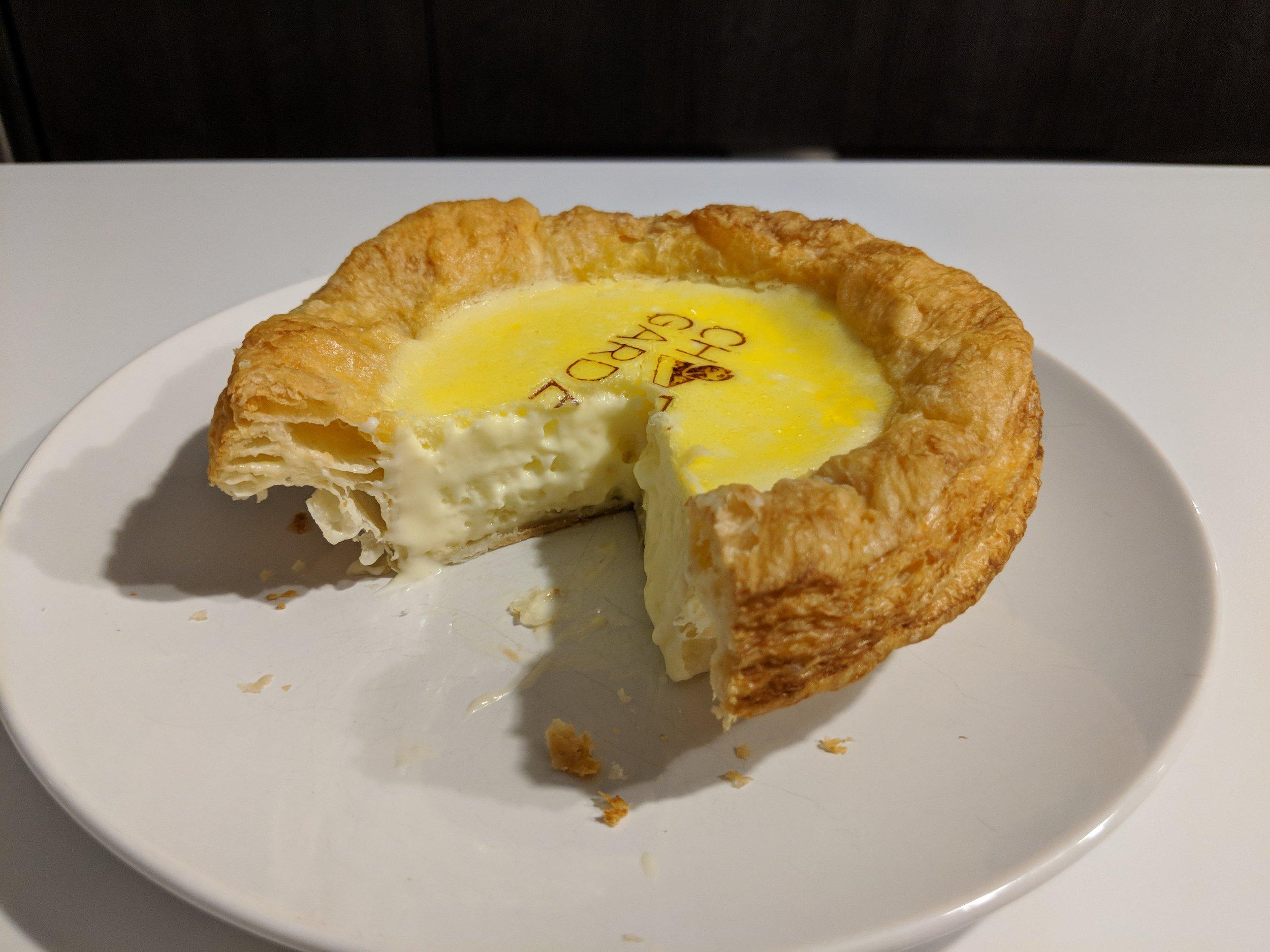 Baked Cheese Tart