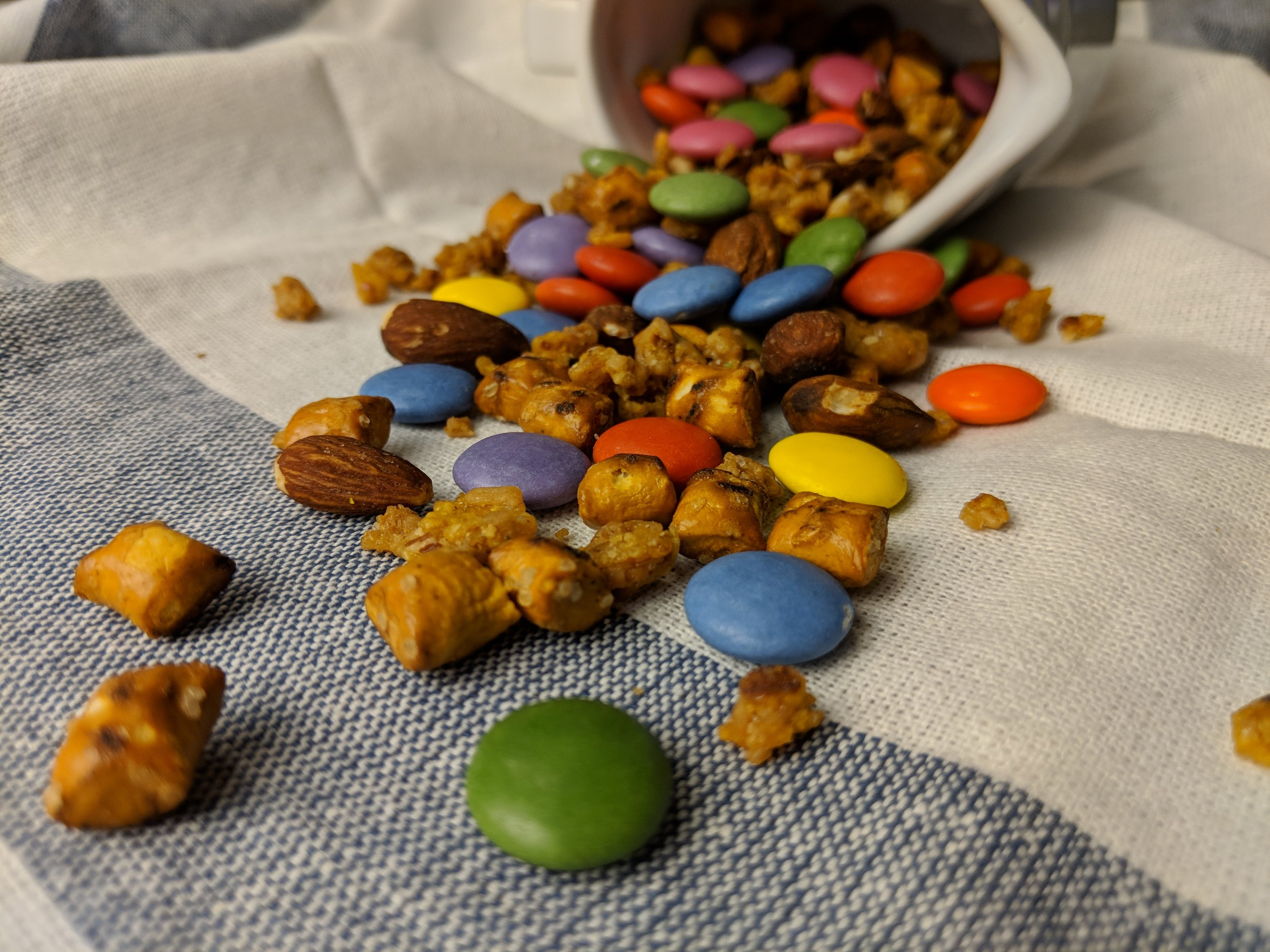 nestle snax smarties sweet and salty