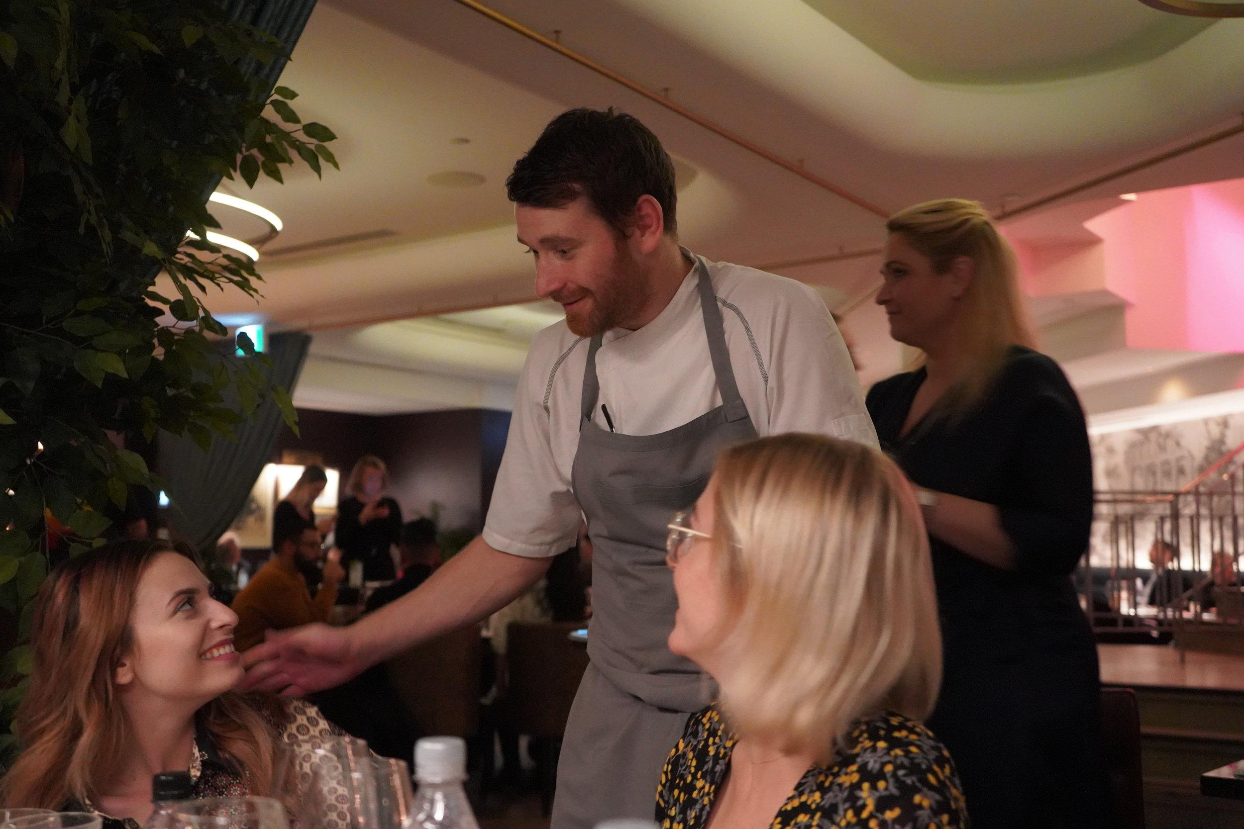 Chef Fannar Vernharosson taste of iceland lena toronto