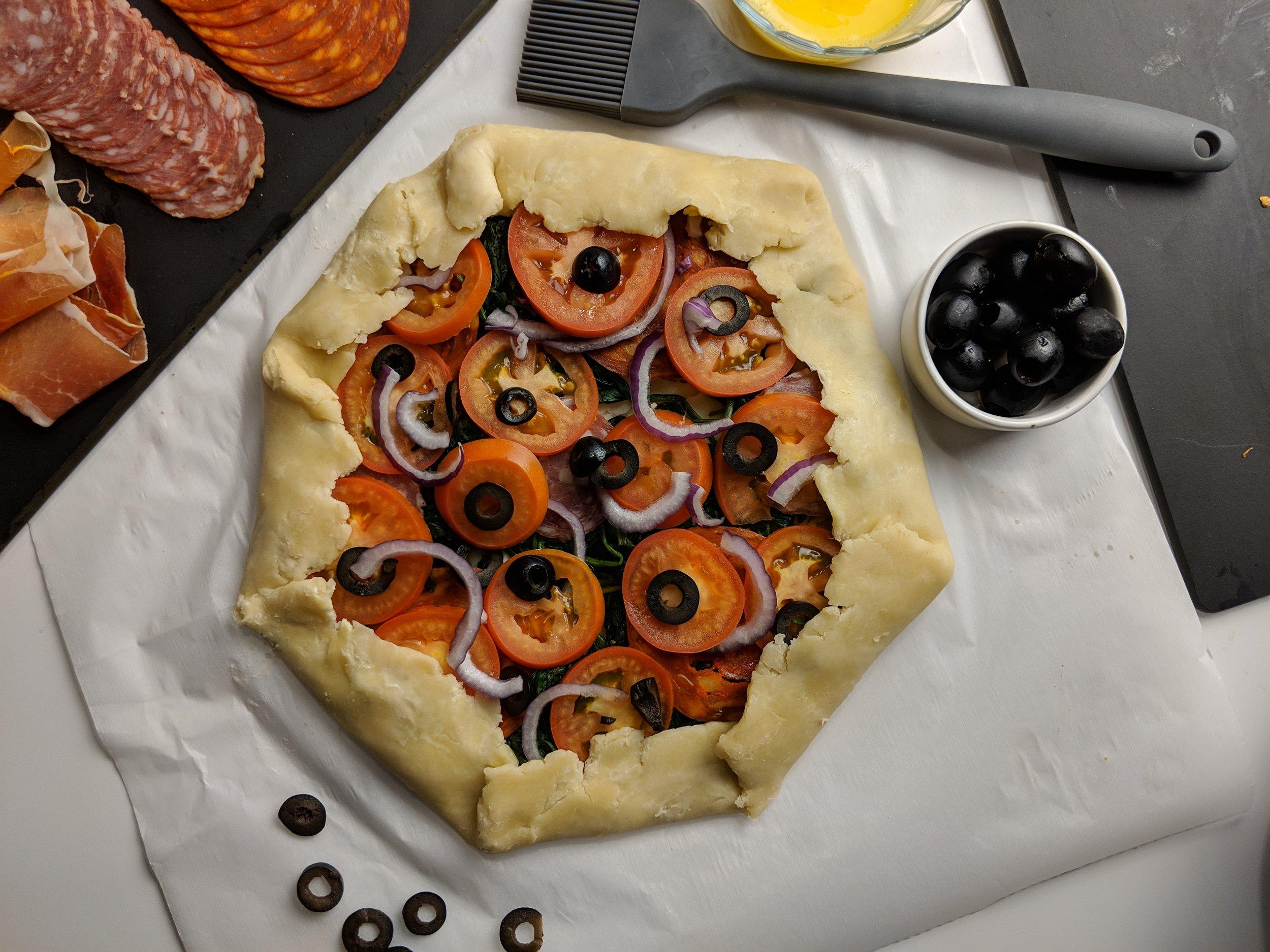 savoury olive breakfast tart recipe canada spain