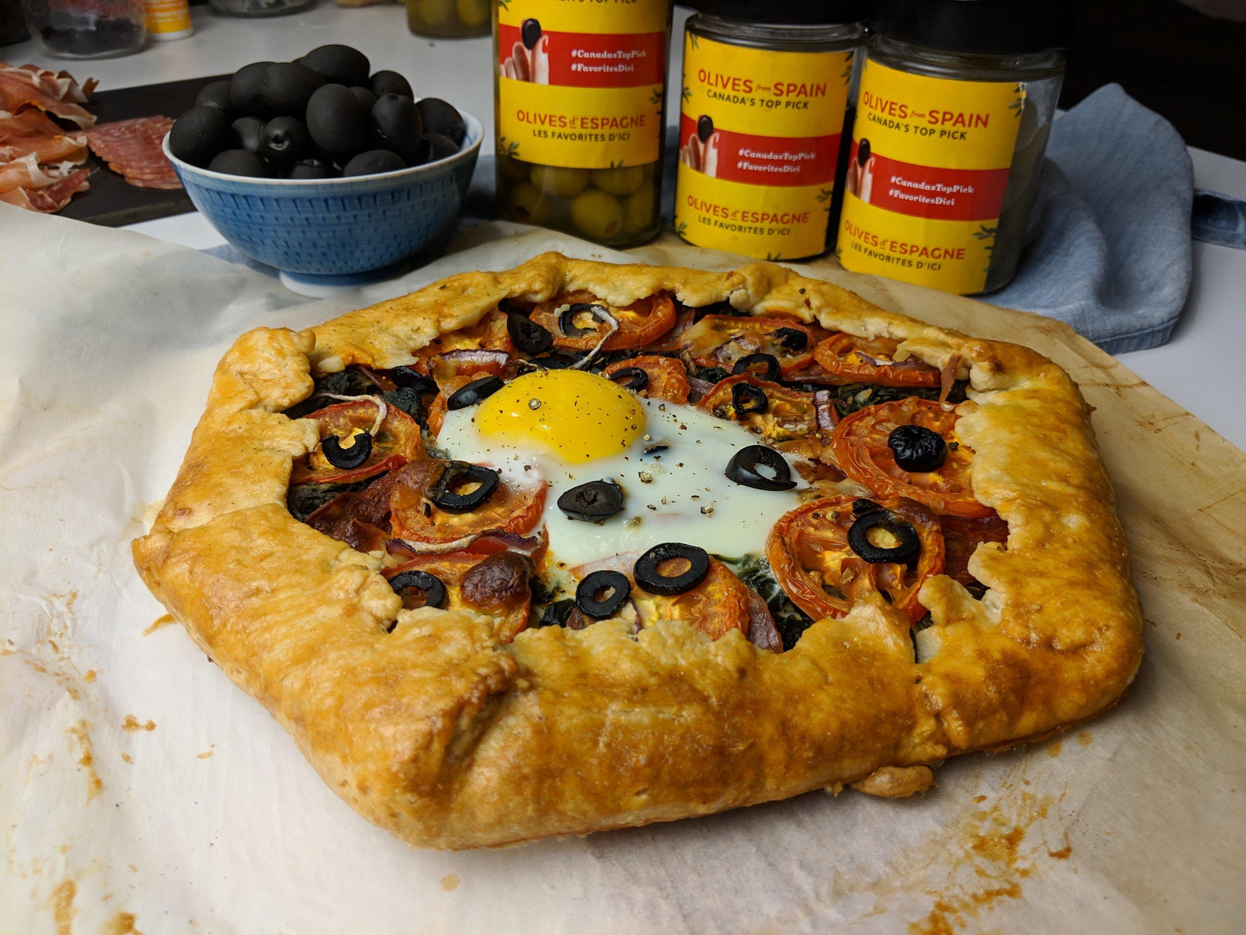 olives from spain breakfast tart hojiblanca
